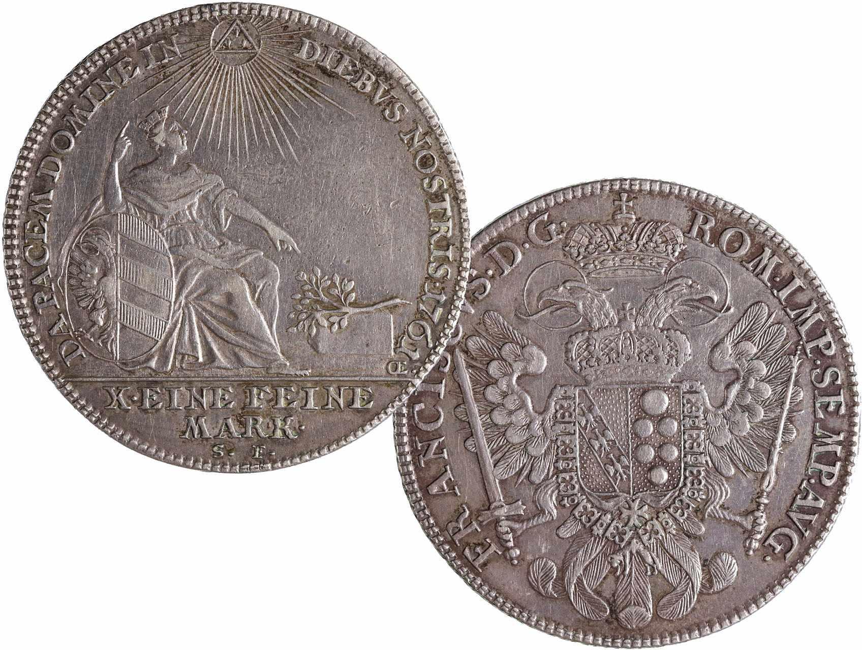 Norimberk - Tolar 1761 SF, KM 335,