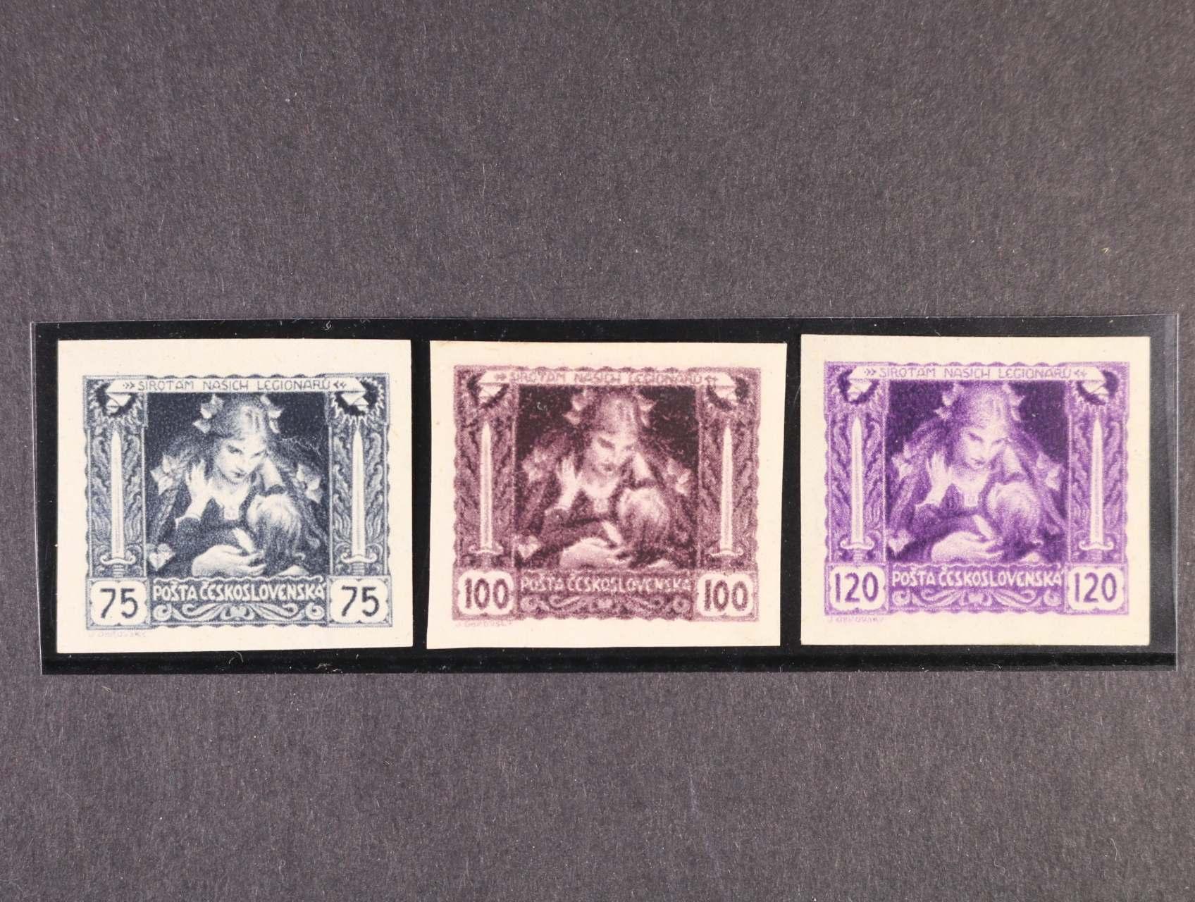 zn. č. 30 N - 32 N, zk. Gilbert, Stupka, kat. cena 1500 Kč