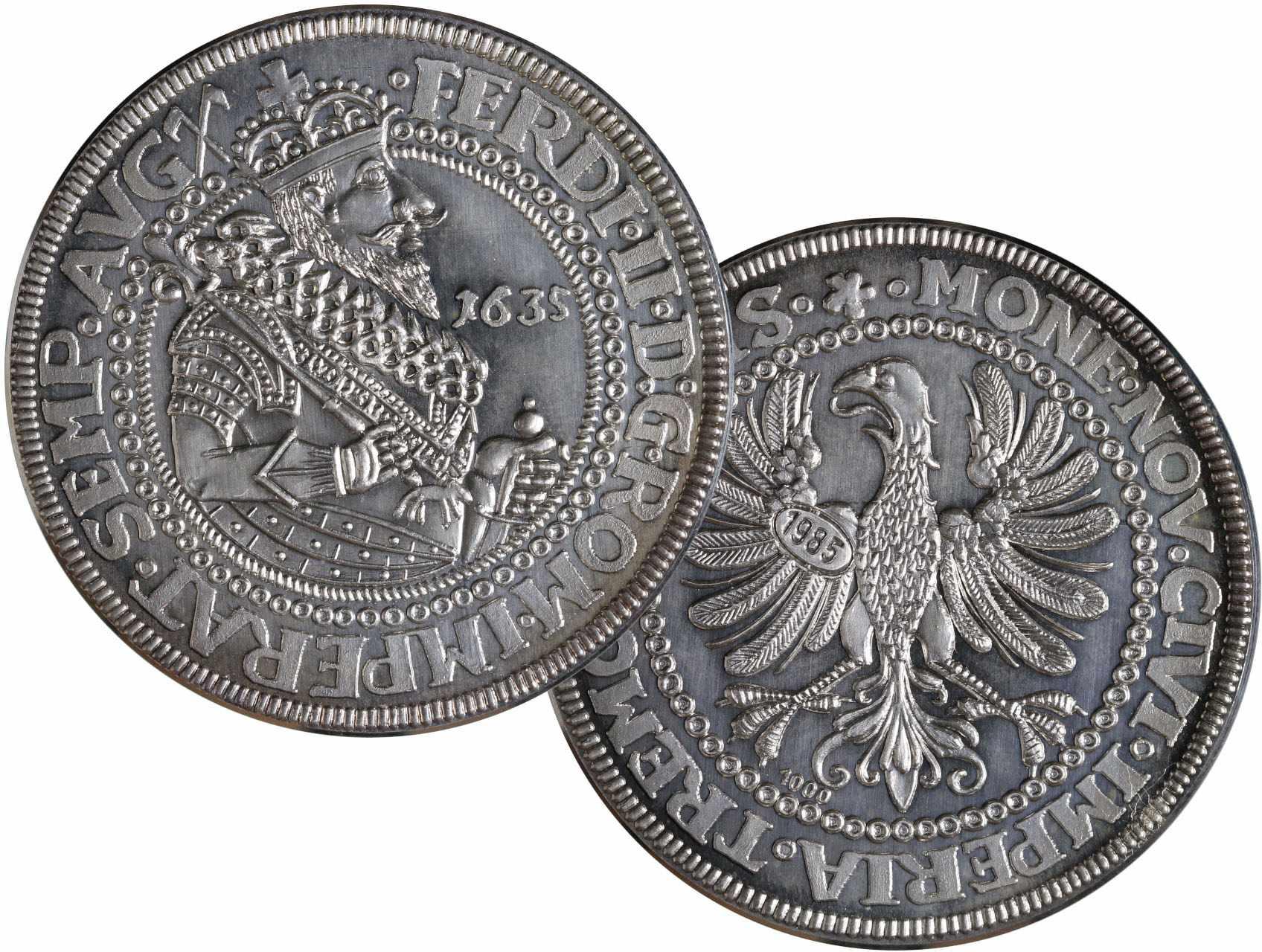 Ag replika 2 Tolaru 1635 Ferdinand II, replika z roku 1985