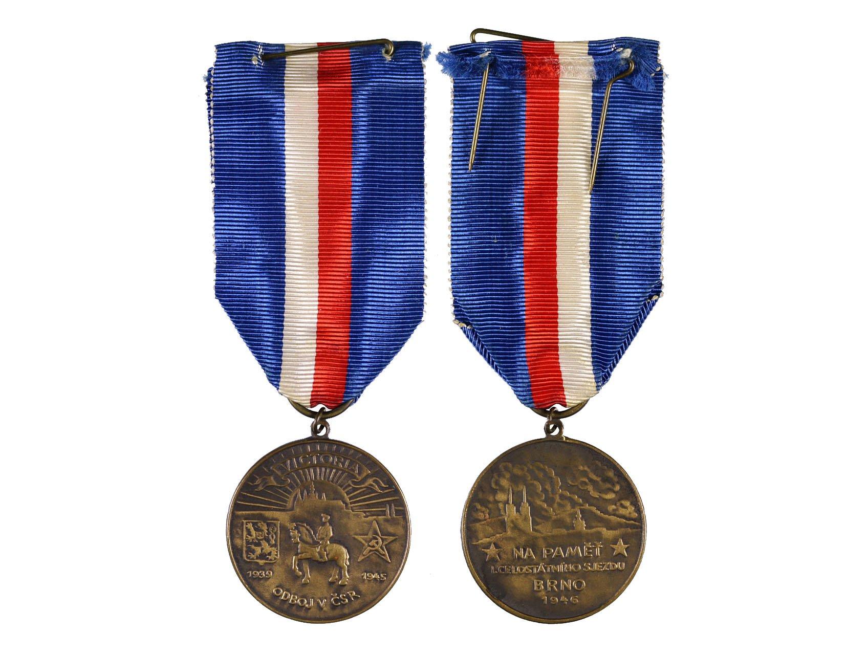 Pamětní medaile odbojové skupiny Victoria, VM 180