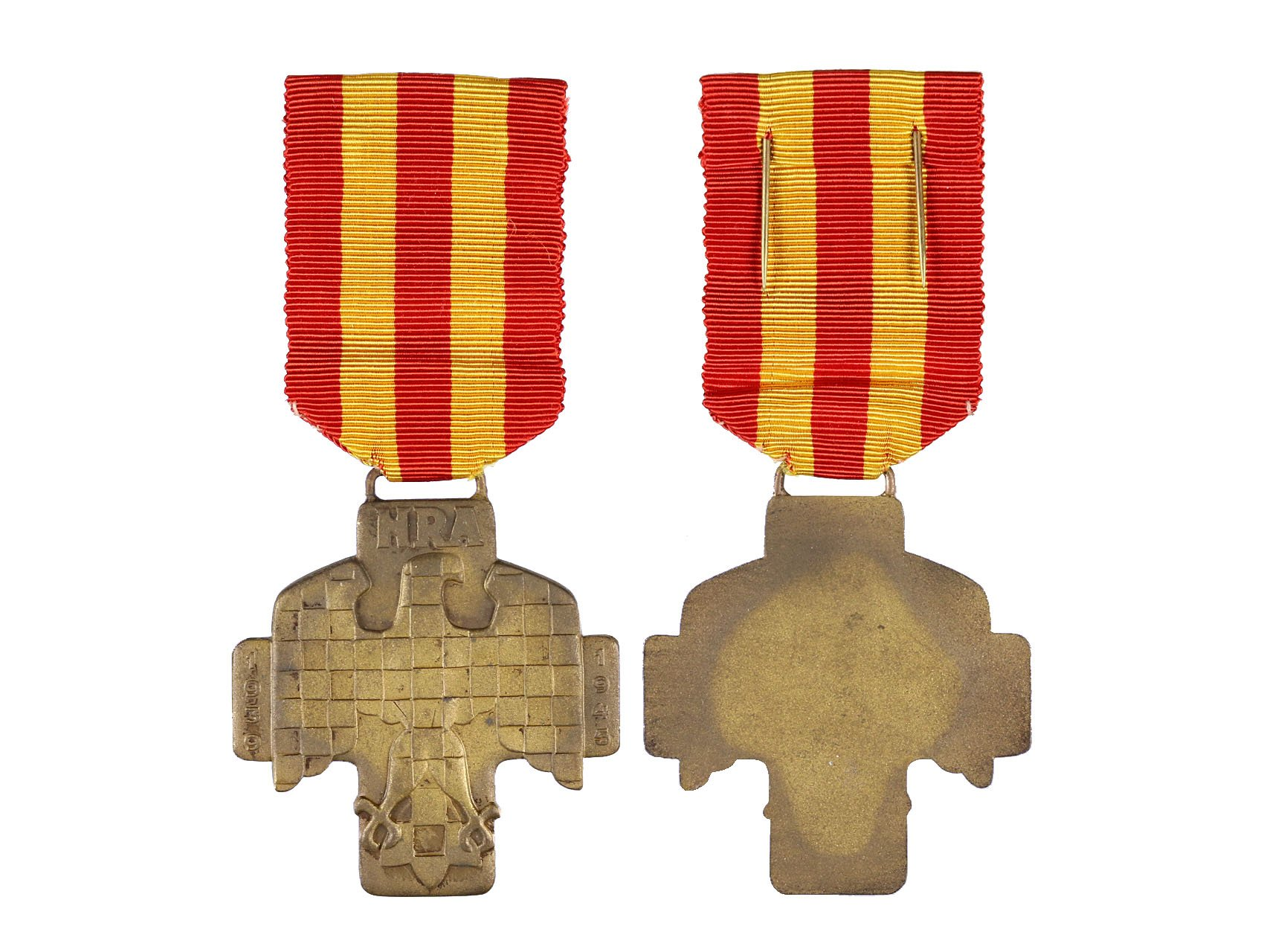 Pamětní medaile Národní revoluční armády Brno, VM 182