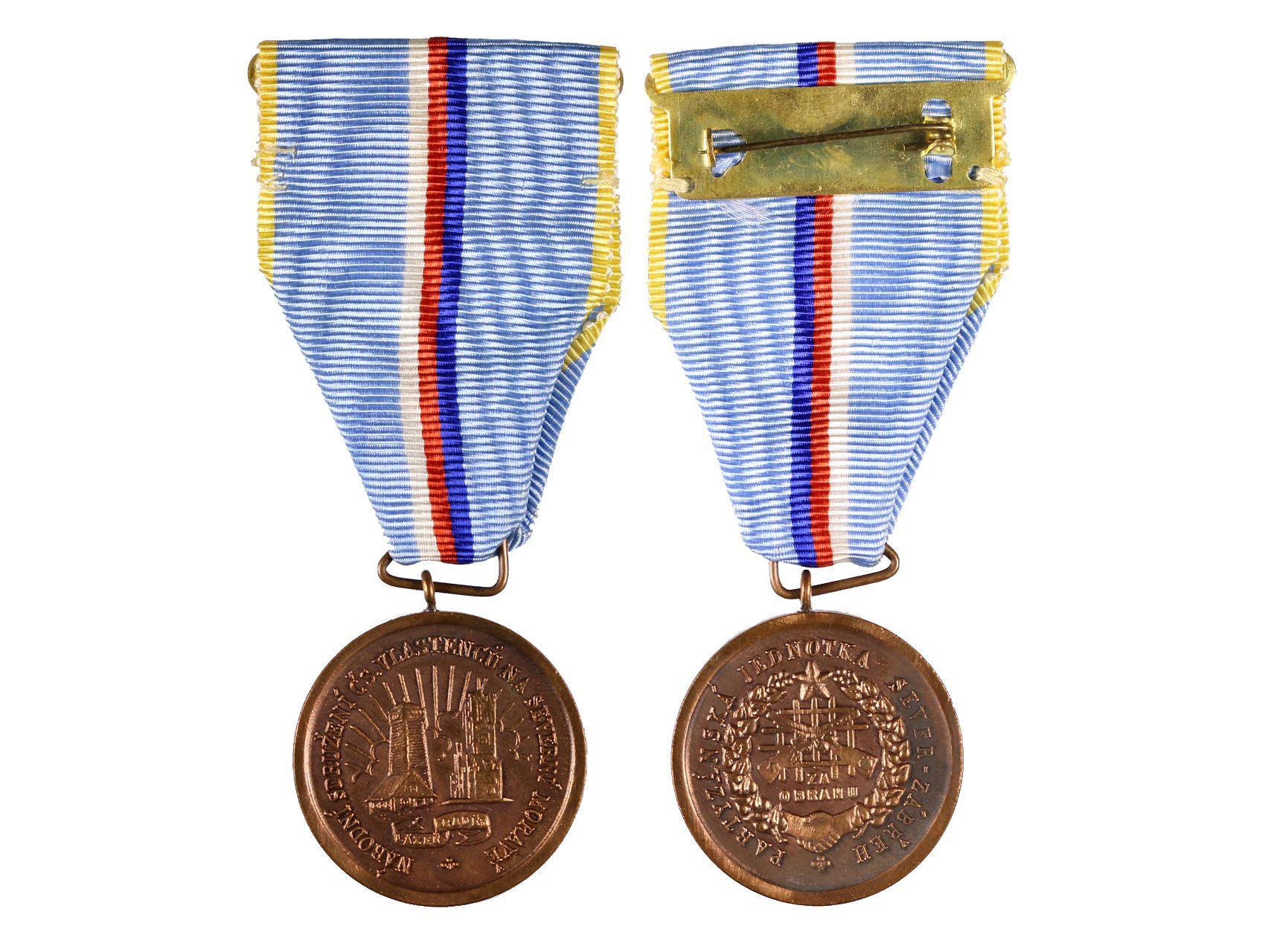 Pamětní medaile protifašistického odboje na Severní Moravě, Partyzánská jednotka Sever-Zábřeh, VM 183