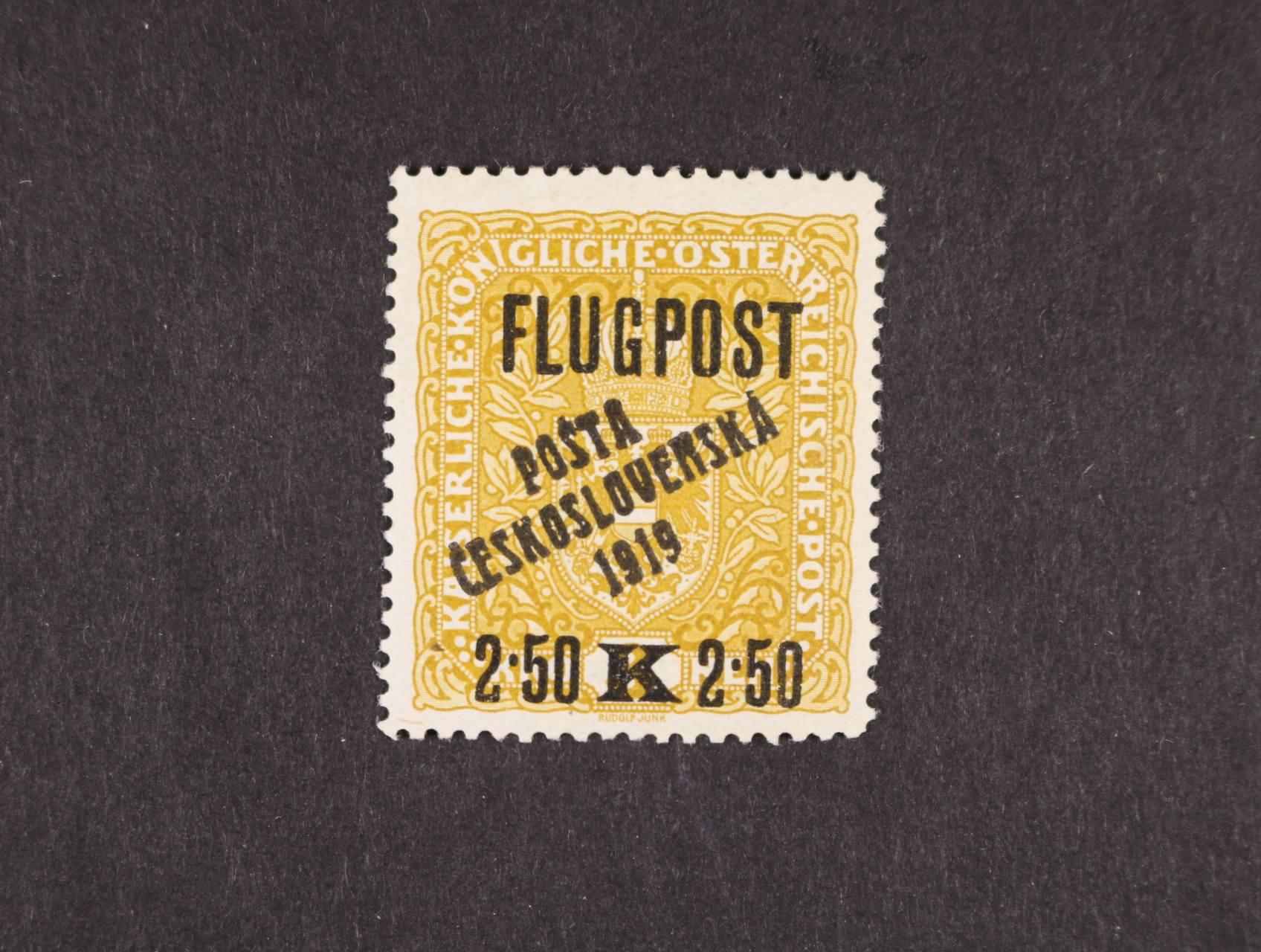 zn. č. 53, typ I, zk. Gilbert, Stupka, kat. cena 4500 Kč