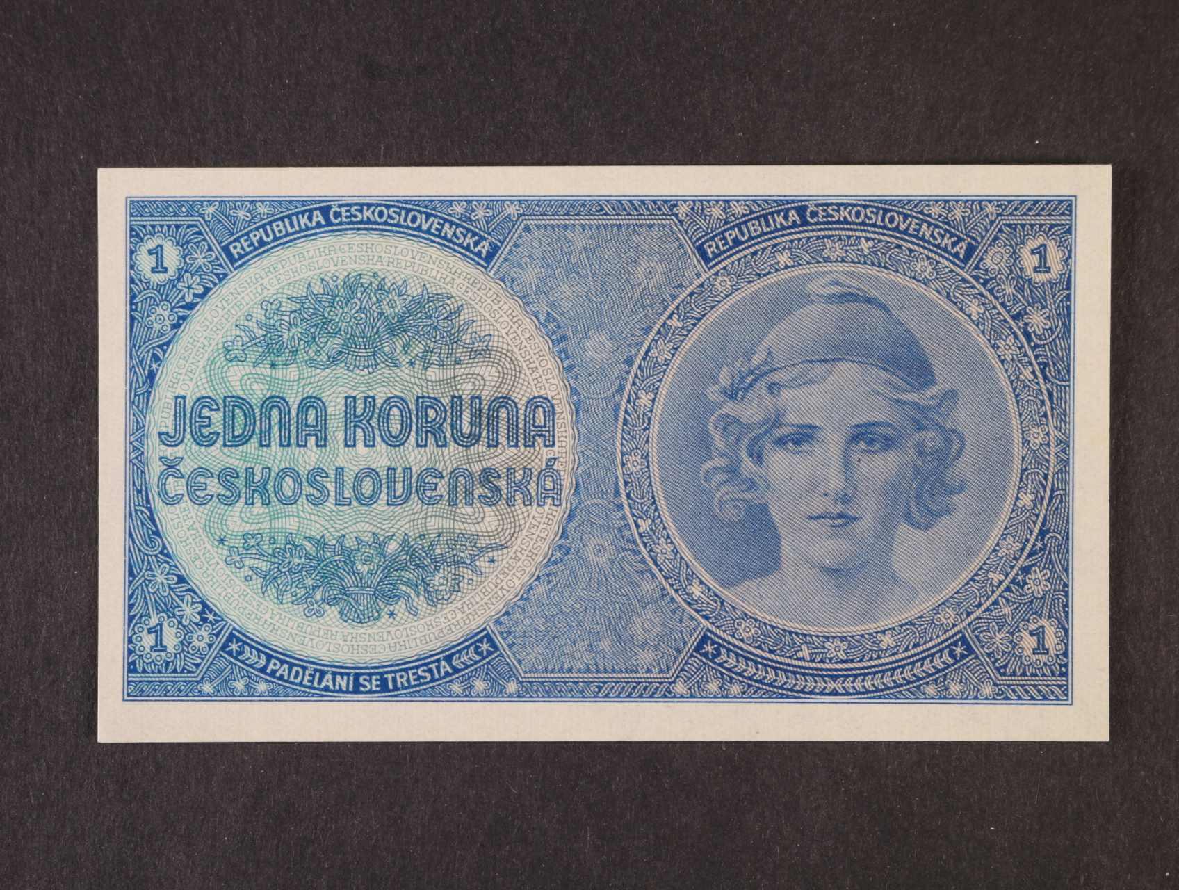 1 Kč 1938 série A 042 nevydaná, Ba. N1, Pi. 27