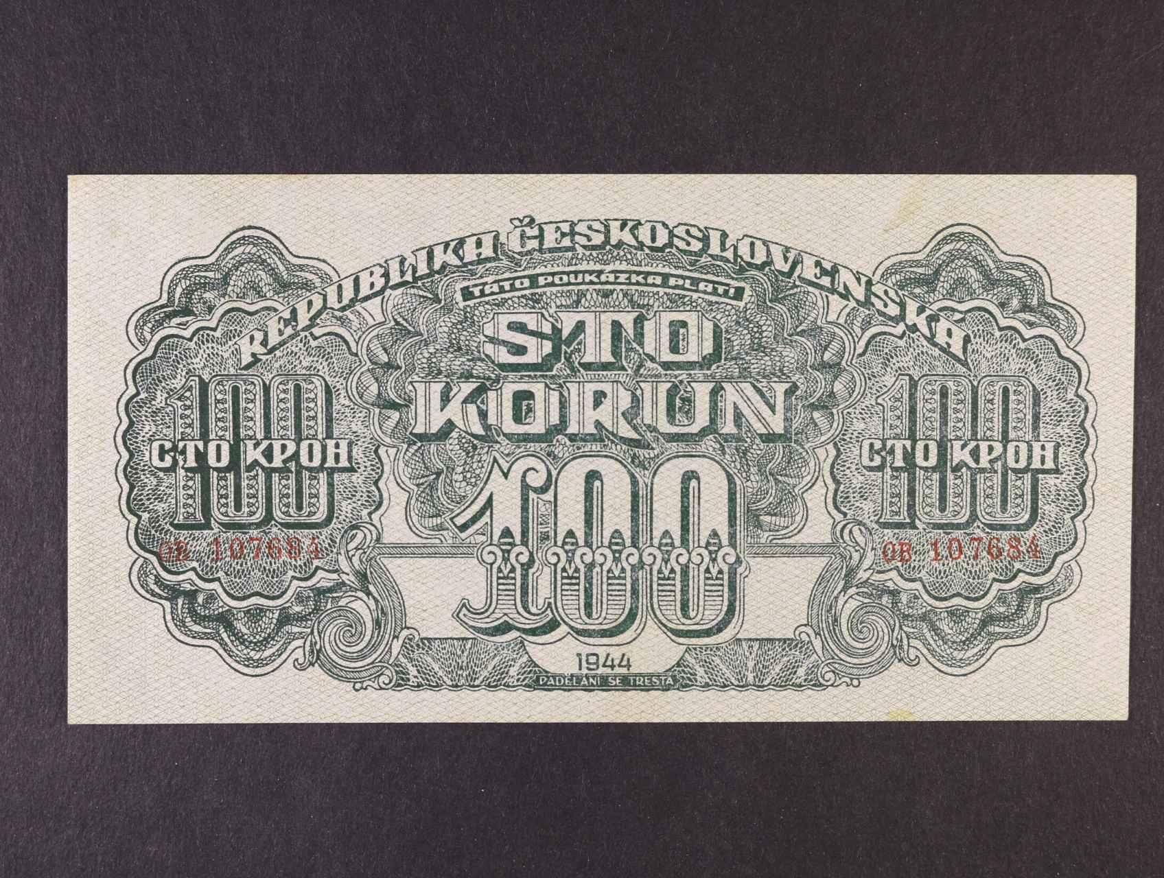 100 K 1944 série OB, varianta