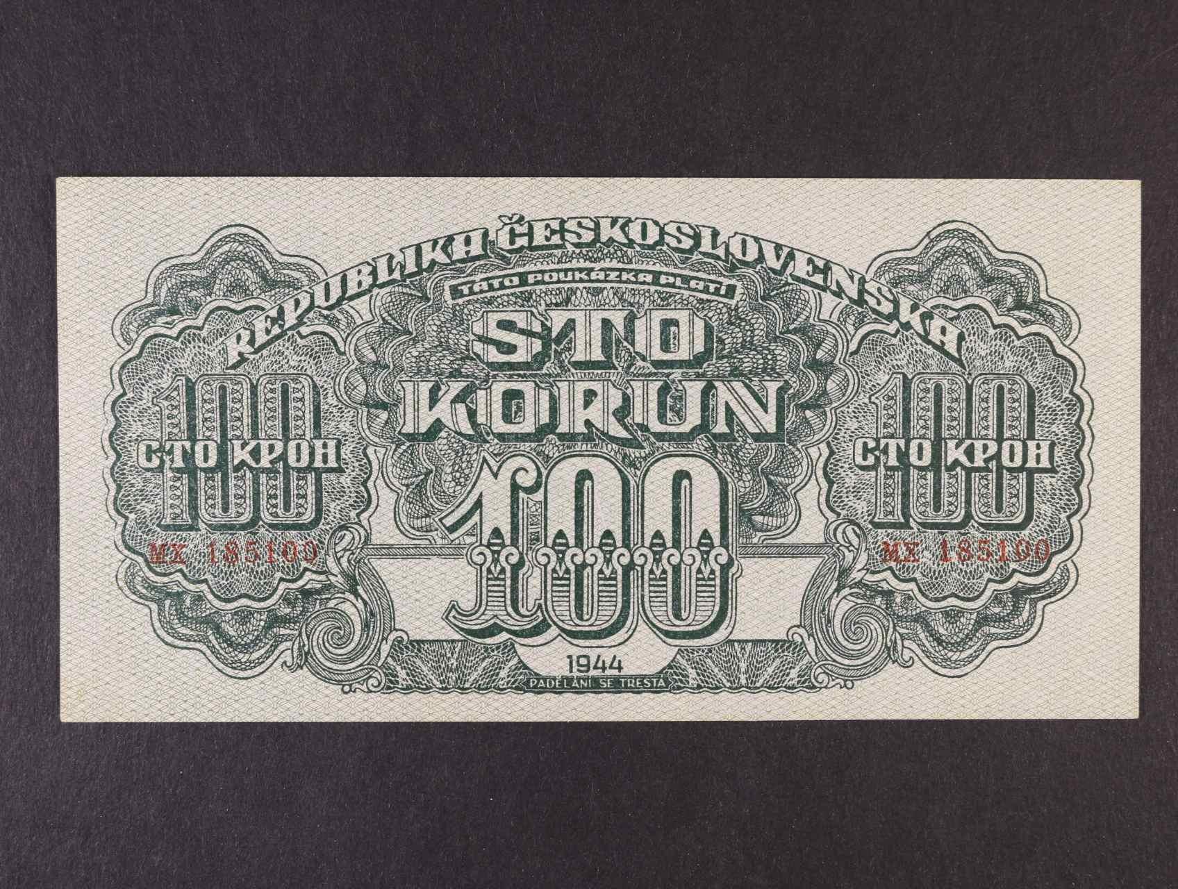 100 K 1944 série MX varianta