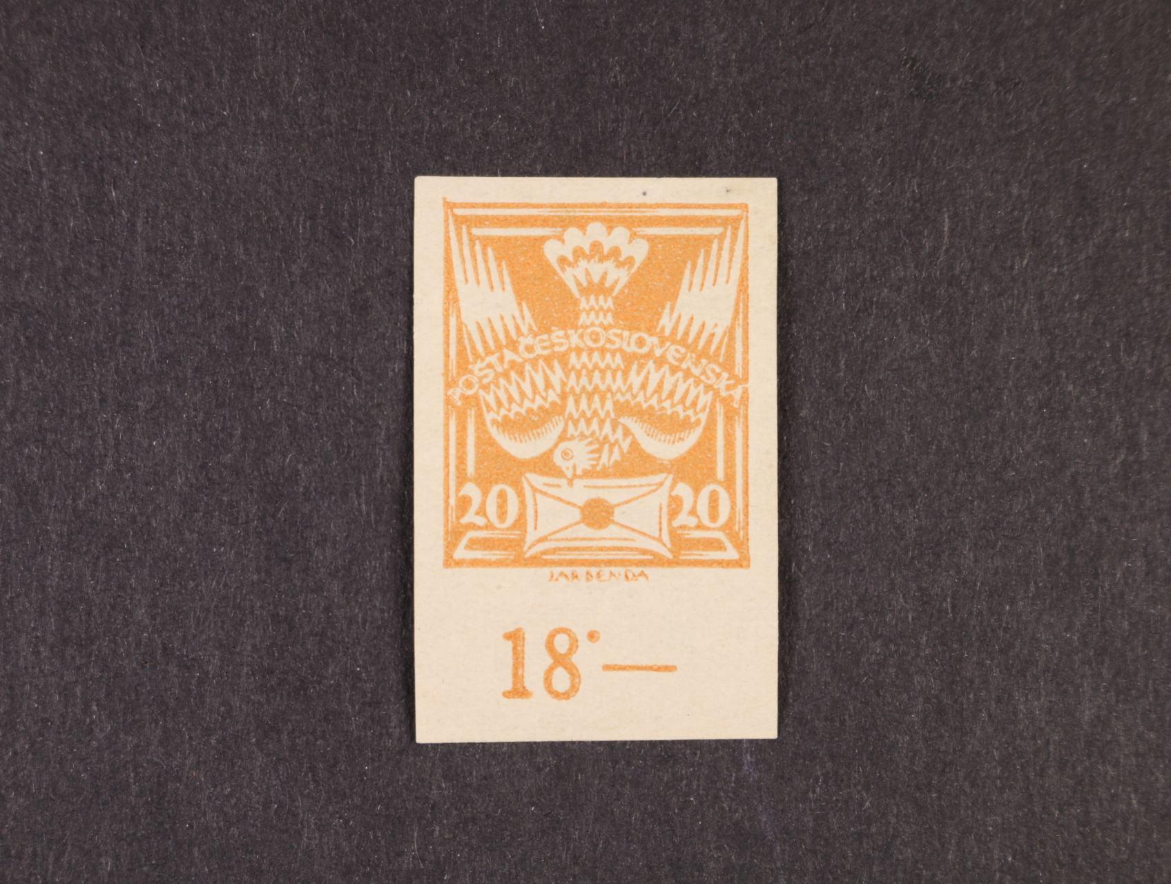 zn. č. 148 N, typ II se spodním okrajem a počitadlem, zk. Karásek, zajímavé, vzácné