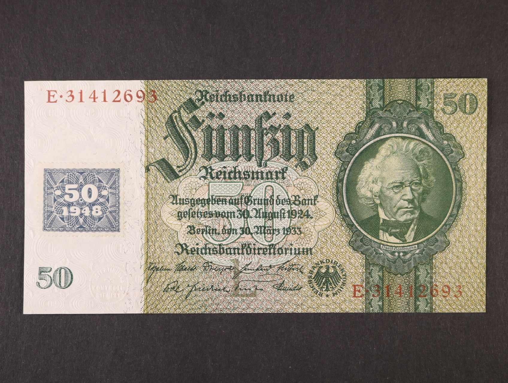 50 DM 1948 kolkovaná, Ro. 337