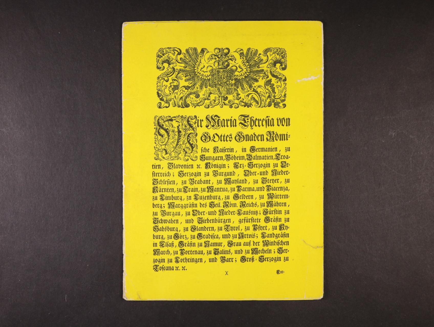 5ks kopií R.U.. formulářů 5, 10, 25, 50, 100 Gulden 1762 v přebalu, vydáno k 10. výročí pobočky ČNS pobočky papírová platidla v r. 1976