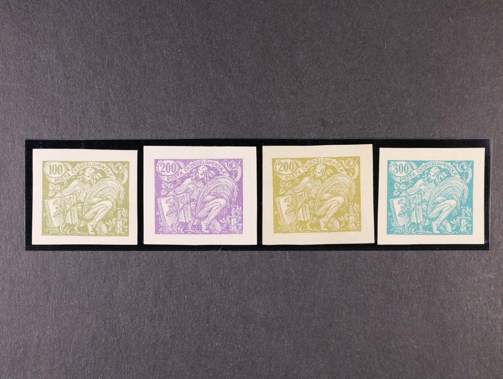 ZT zn. č. 164 - 7 v různých barvách, zk. Gilbert, Karásek