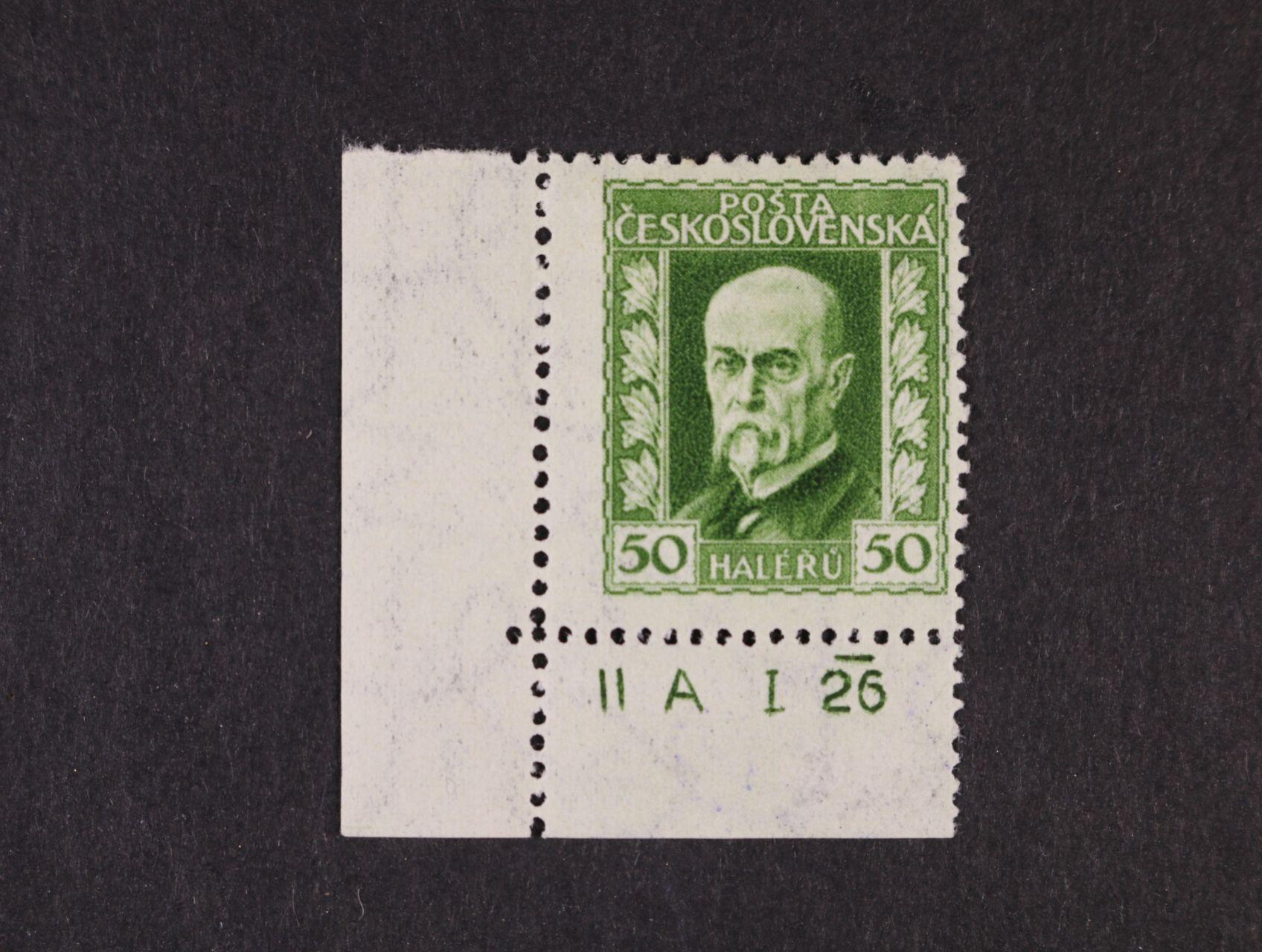 zn. č. 188 A, pr. 2 - levý spodní roh. kus s DZ II A  I 26