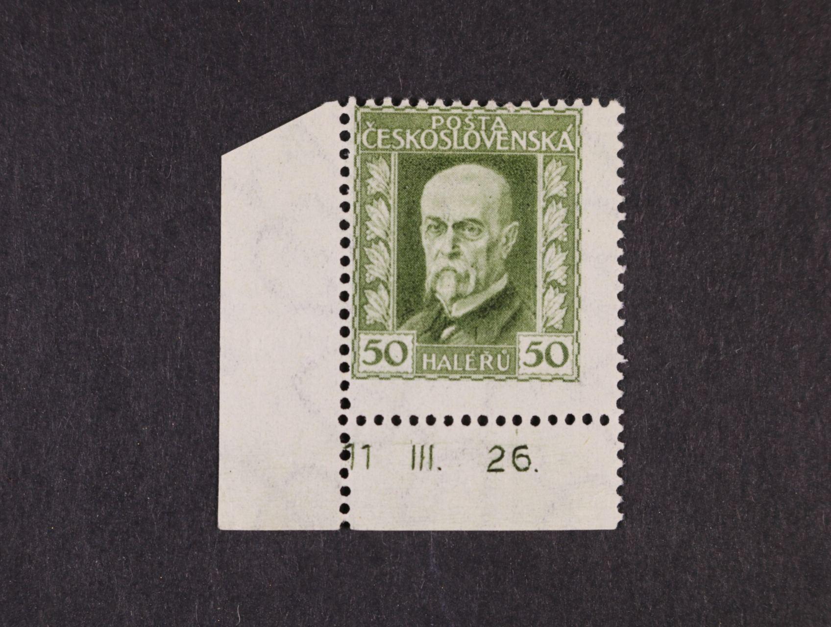 zn. č. 188 A, pr. 3 - levý spodní roh. kus s DZ 11  III.  26
