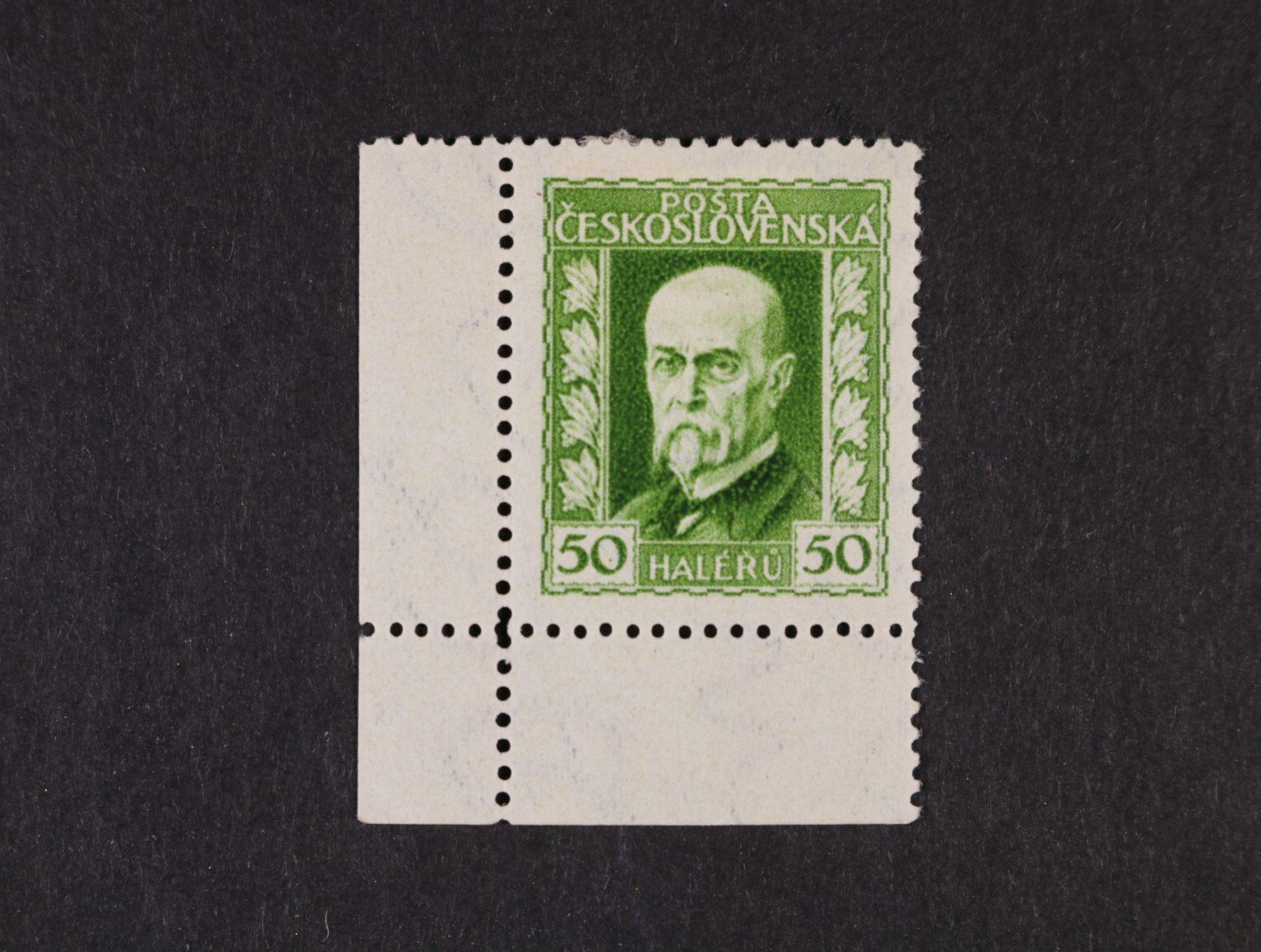 zn. č. 188 B, pr. 3 - levý spodní roh. kus bez desk. označení