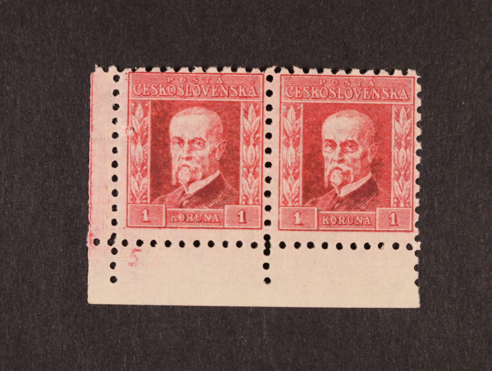 zn. č. 199x, pr. 6 - levá spodní roh. dvoupáska s DZ 5