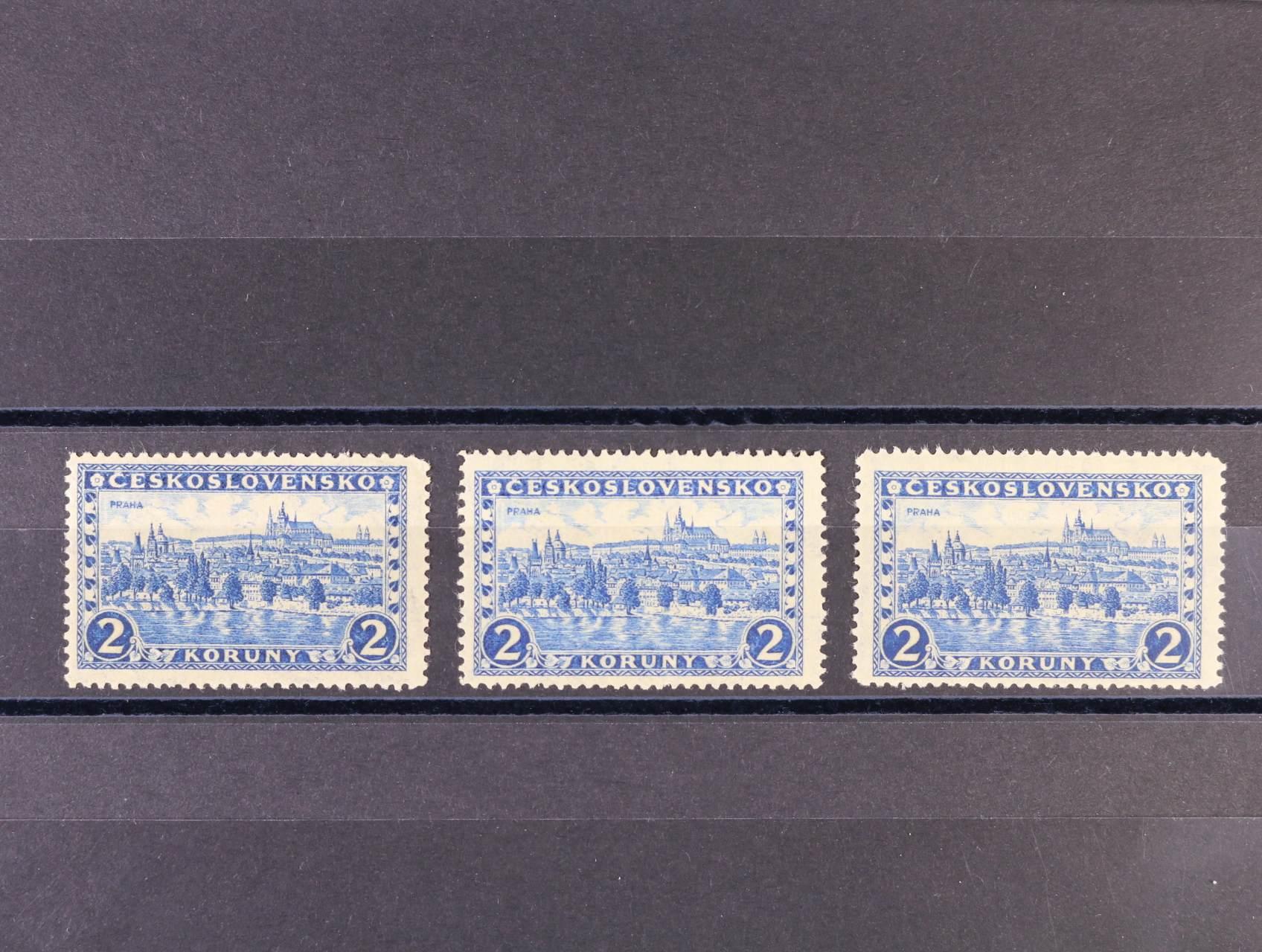 zn. č. 225x pergamen. papír, pr. 5, 6 a 7