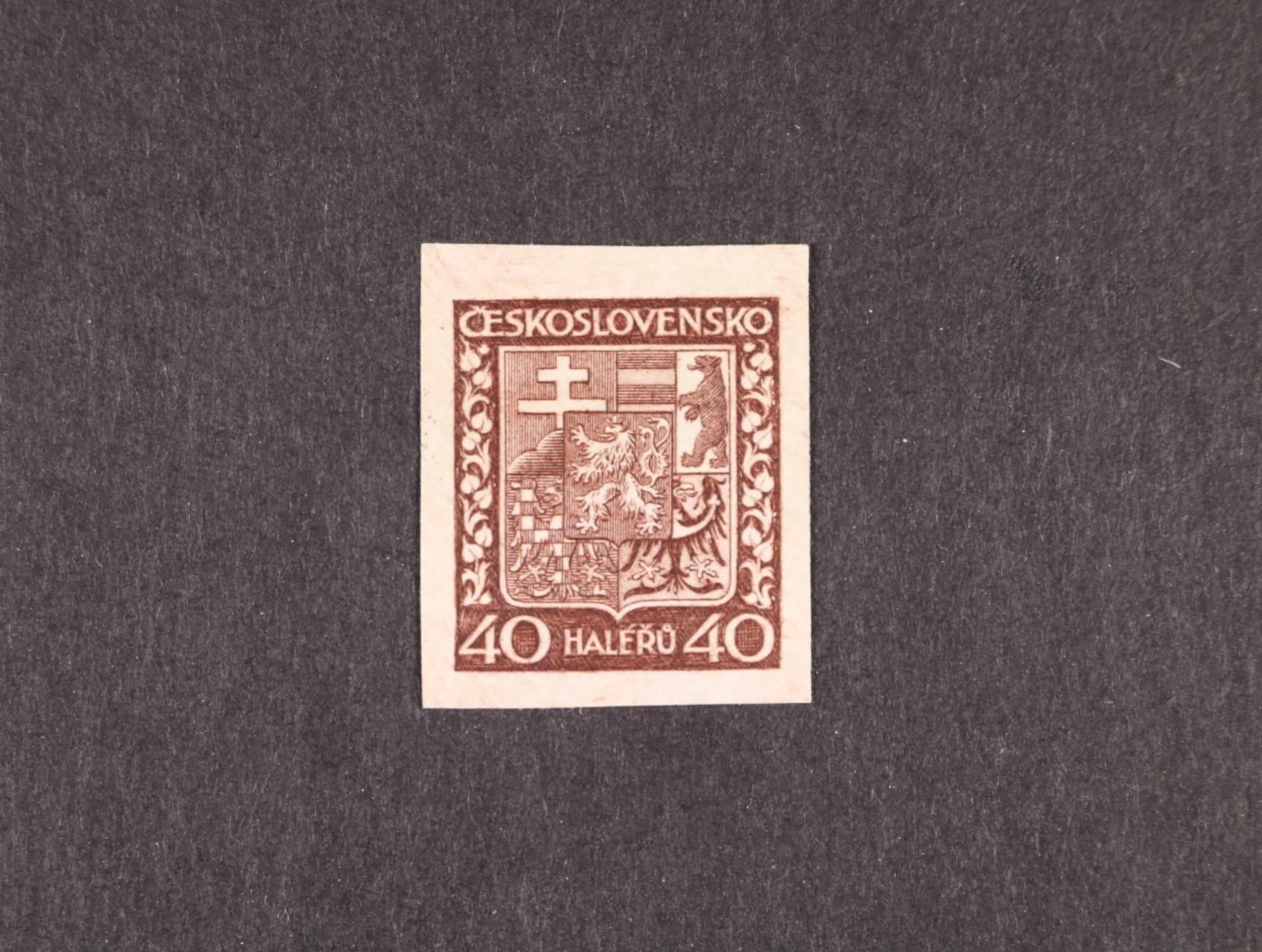 zn. č. 253 N tmavěhnědá, zk. Gilbert, Beneš