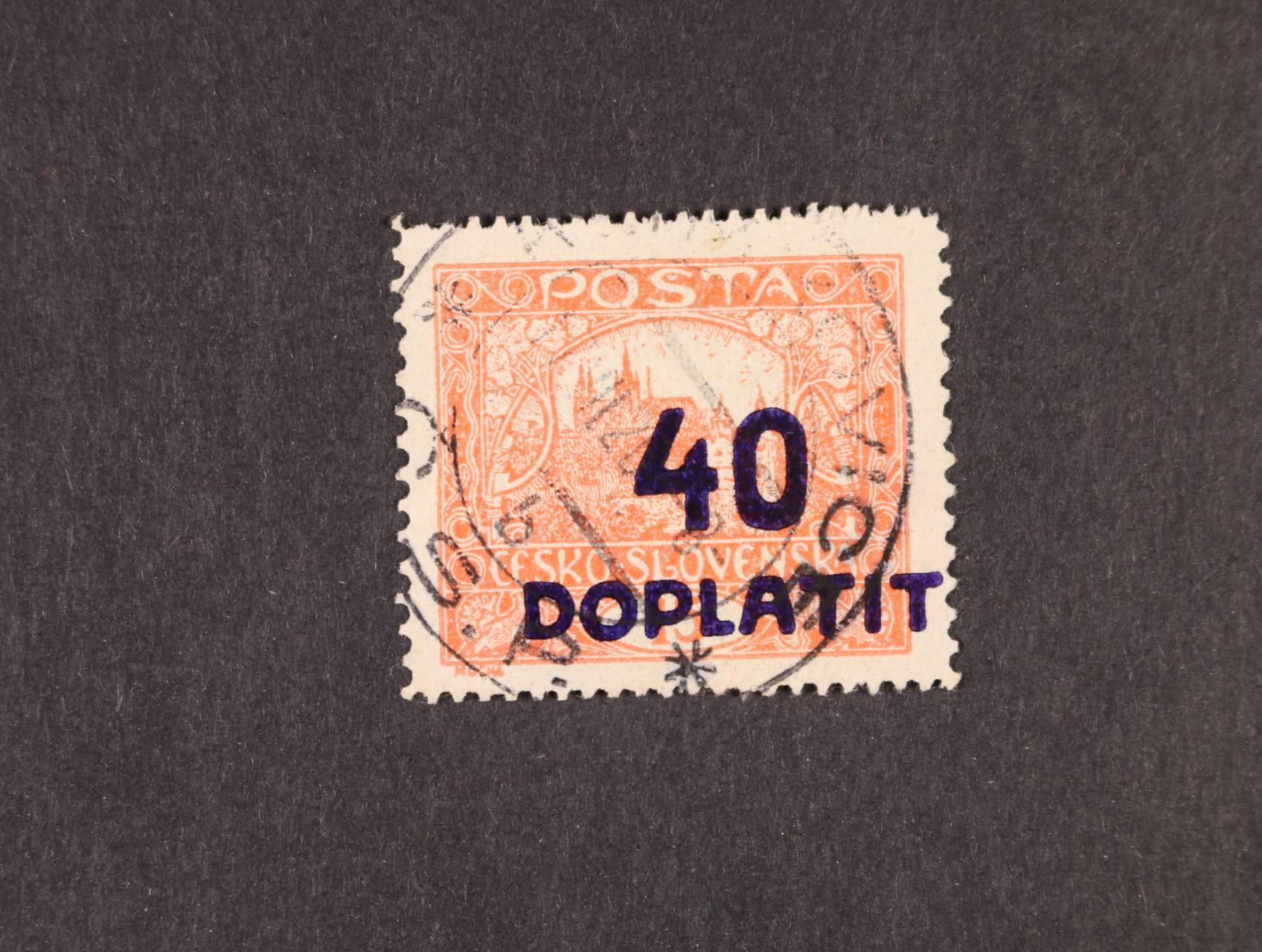 zn. DL č. 30 D, typ II, zk. Gilbert, atest Štolfa, kat. cena 8000 Kč