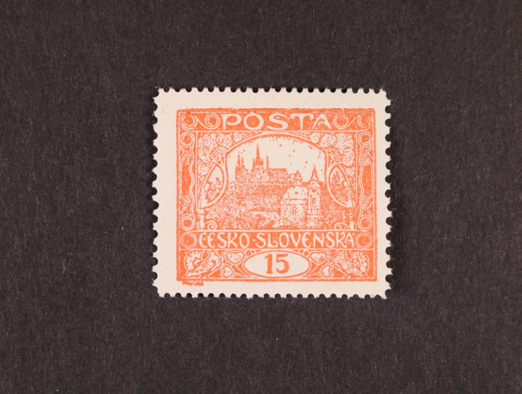 zn. č. 7 H, typ II, příčkový podtyp IIa, TD 1, zk. Gilbert, kat. cena 20000 Kč
