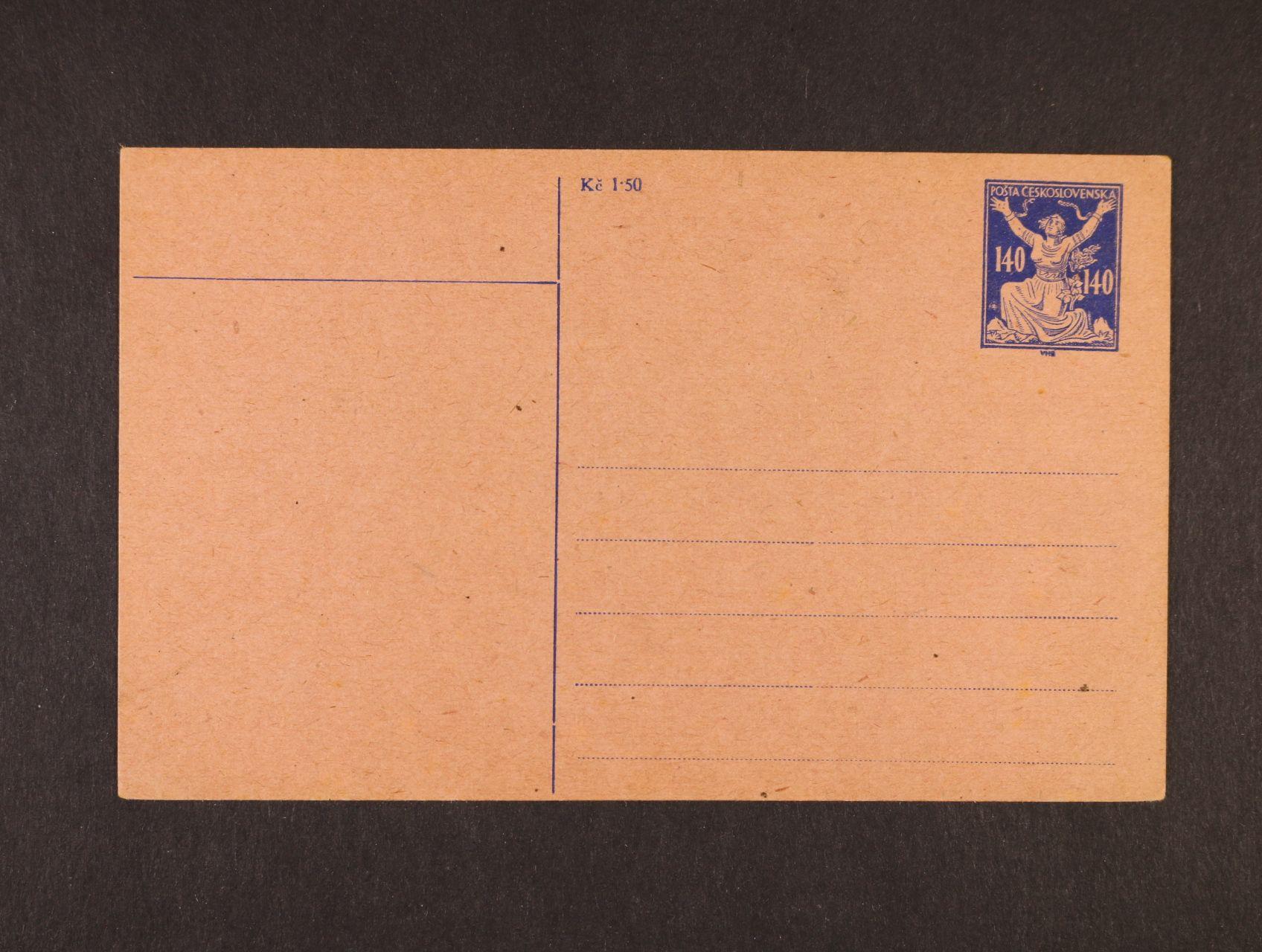 CPO č. 1 nepoužitá, kat. cena 1000 Kč
