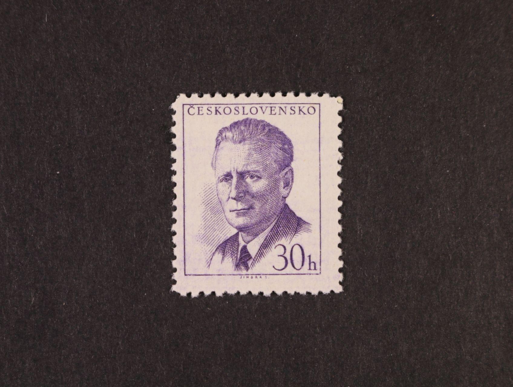 zn. č. 1091x - chybotisk, zk. Karásek, kat. cena 2400 Kč