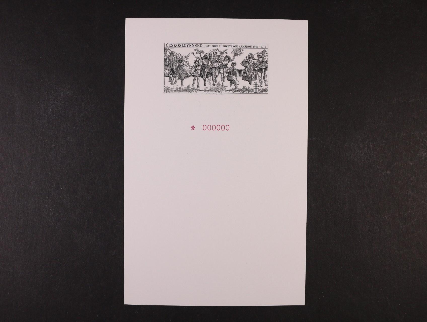 VT 6b anulát, kat. cena 3600 Kč