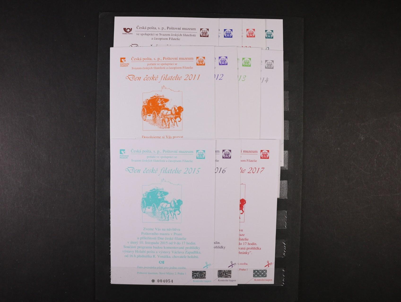 kompl. sestava PPM z let 2007 - 17 určené pro členy SČF
