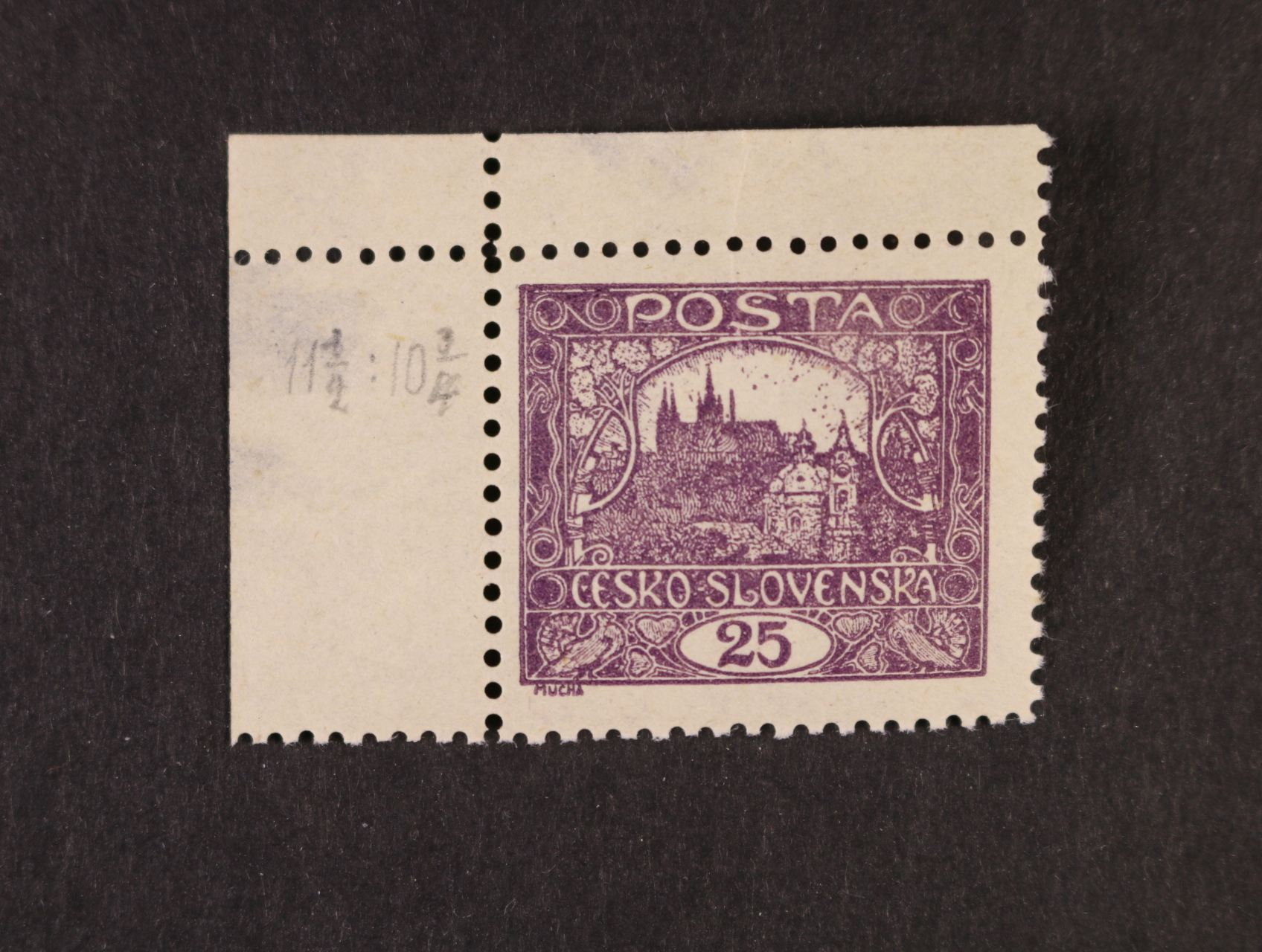 zn. č. 11 E, II. příčkový tyt, TD 2, ZP 1, rohový kus