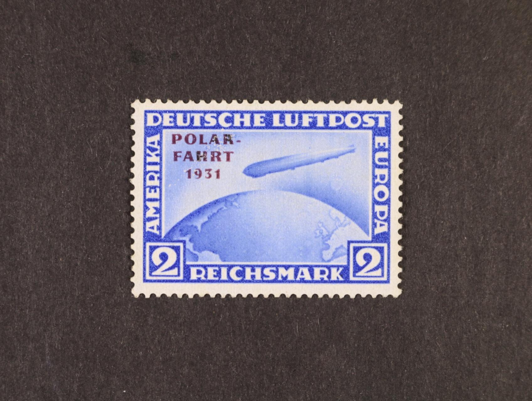 zn. Mi. č. 457 2RM Polarfahrt 1931, 1300 EUR