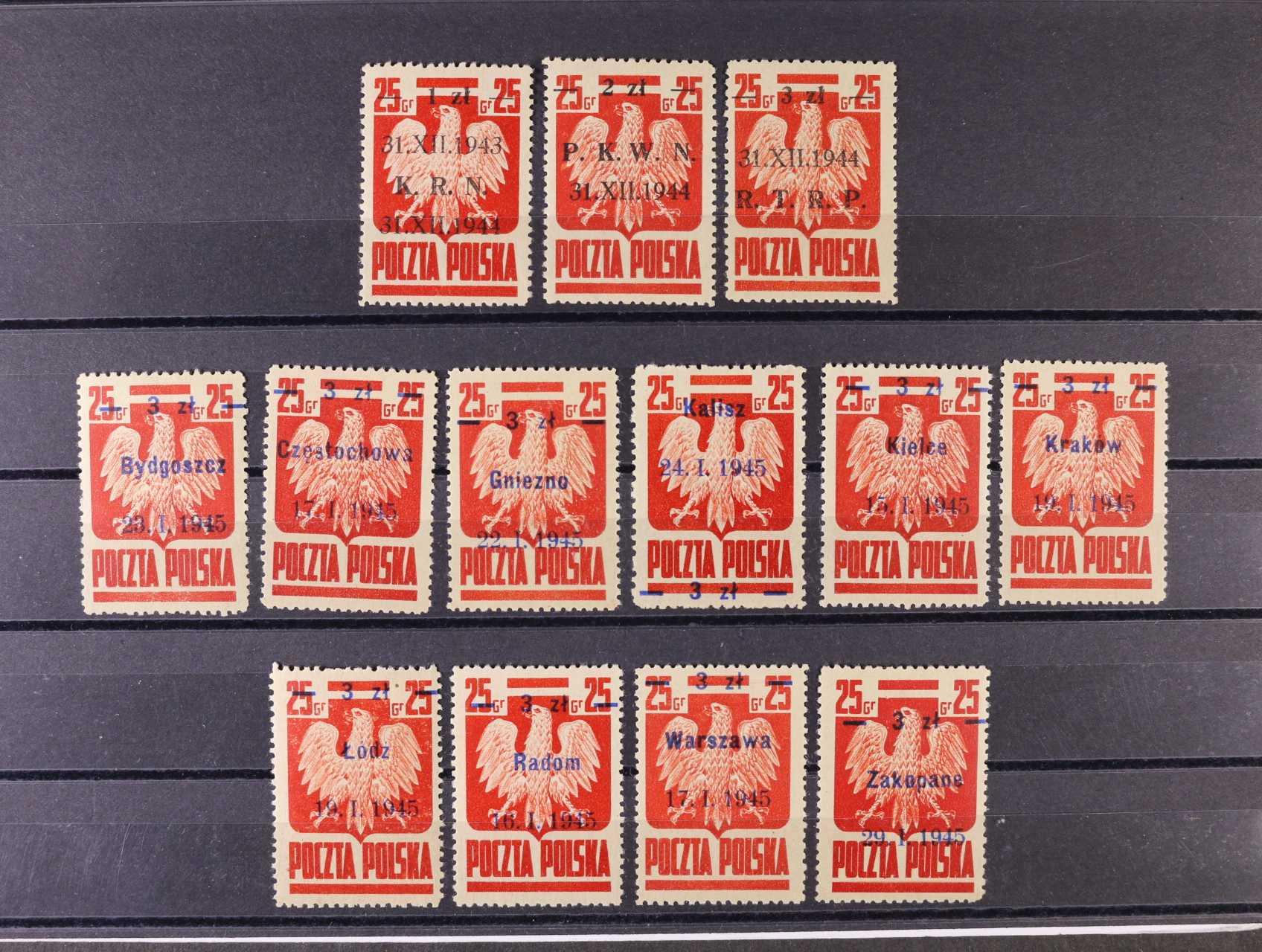 zn. Mi. č. 386 - 8, 390/I - X, 110 EUR