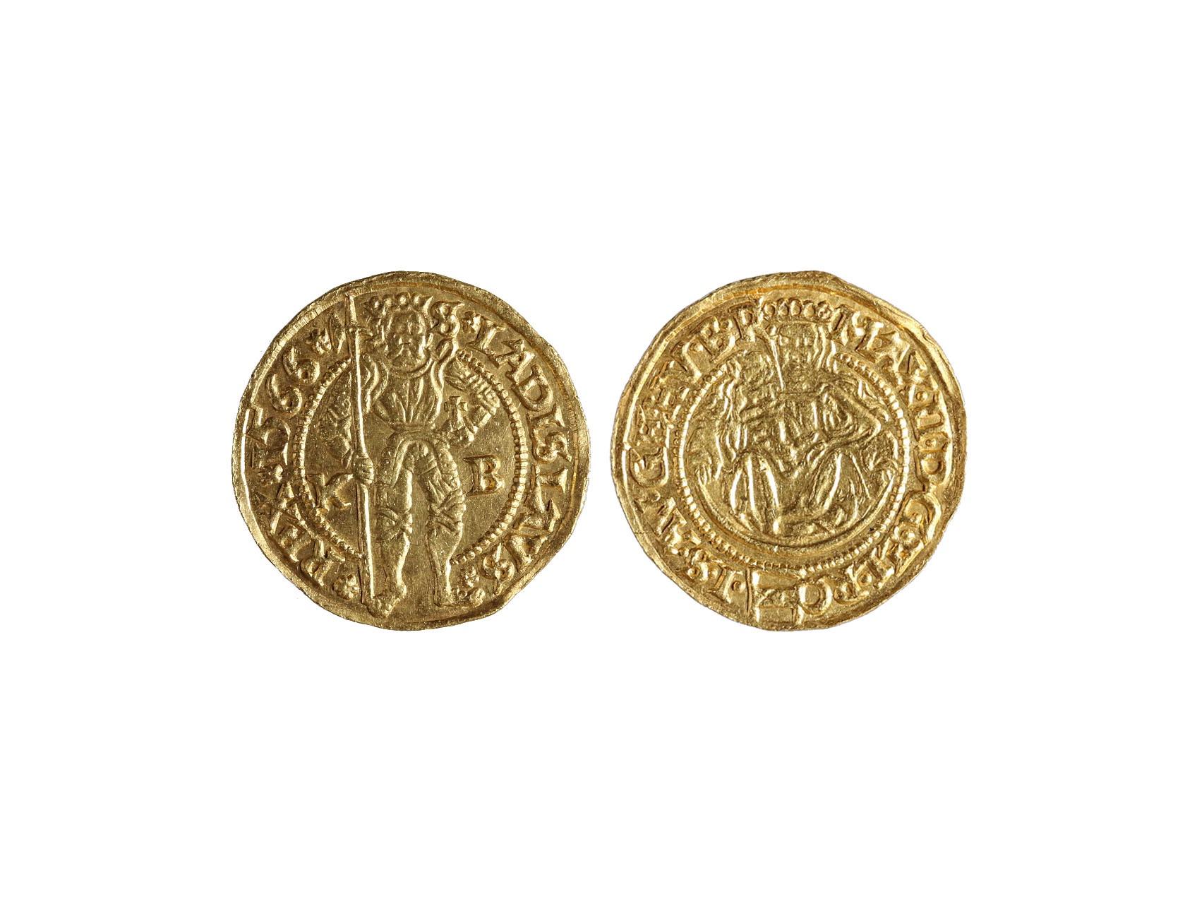 Maximilián II. 1564-1576 - Dukát 1566 KB