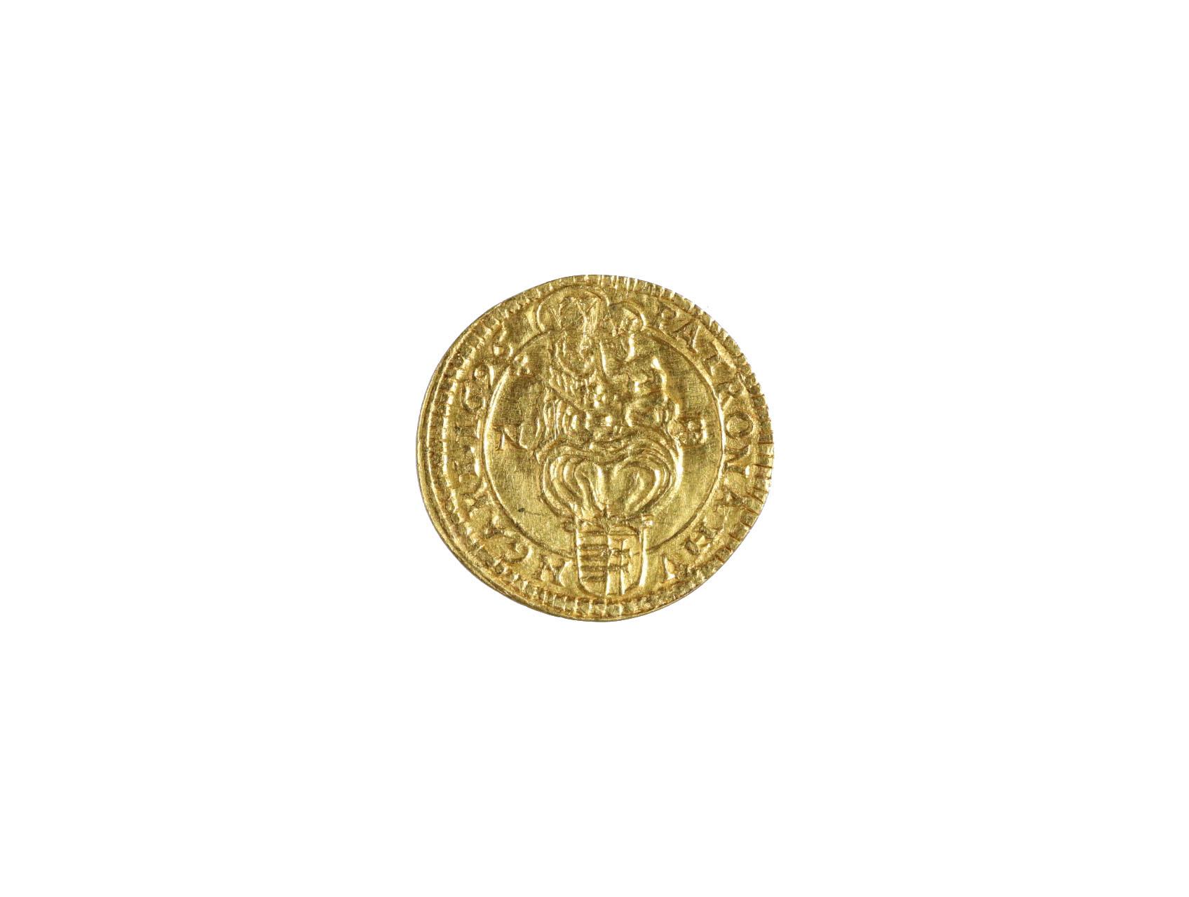 Leopold I. 1657-1705 - 1/4 Dukát 1696 NB Velká Baňa, N44