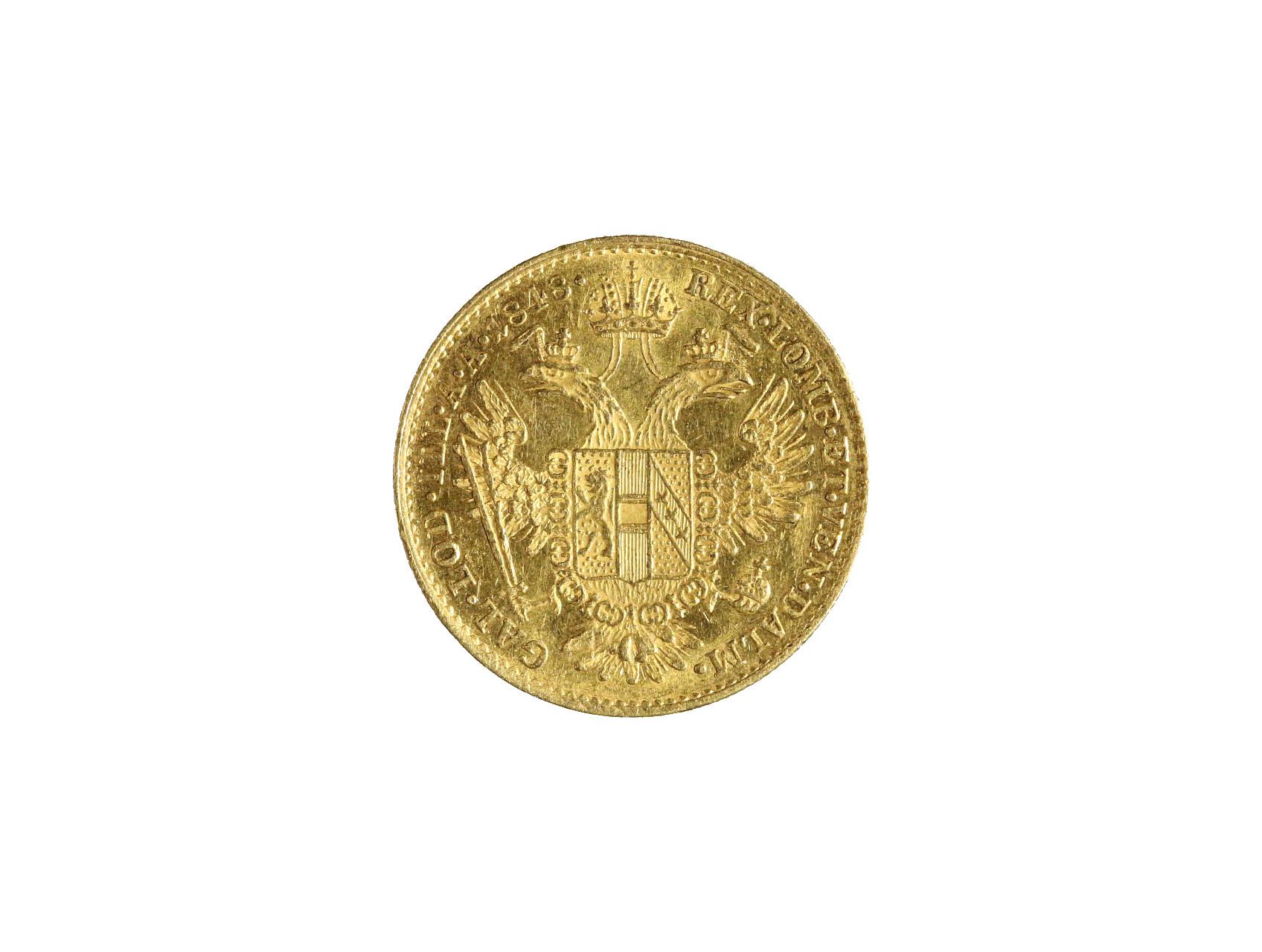 Ferdinand V. 1835-1848 - Dukát 1848 A, N44
