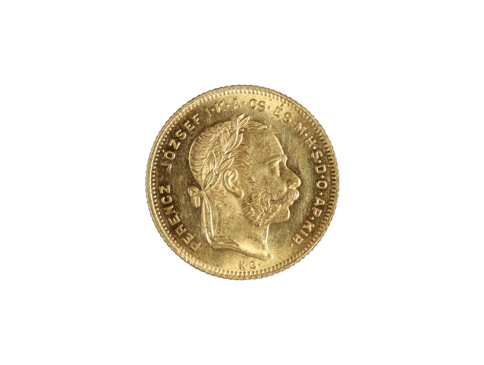 František Josef I. 1848-1916 - 8 Zlatník 1879 K.B., N127