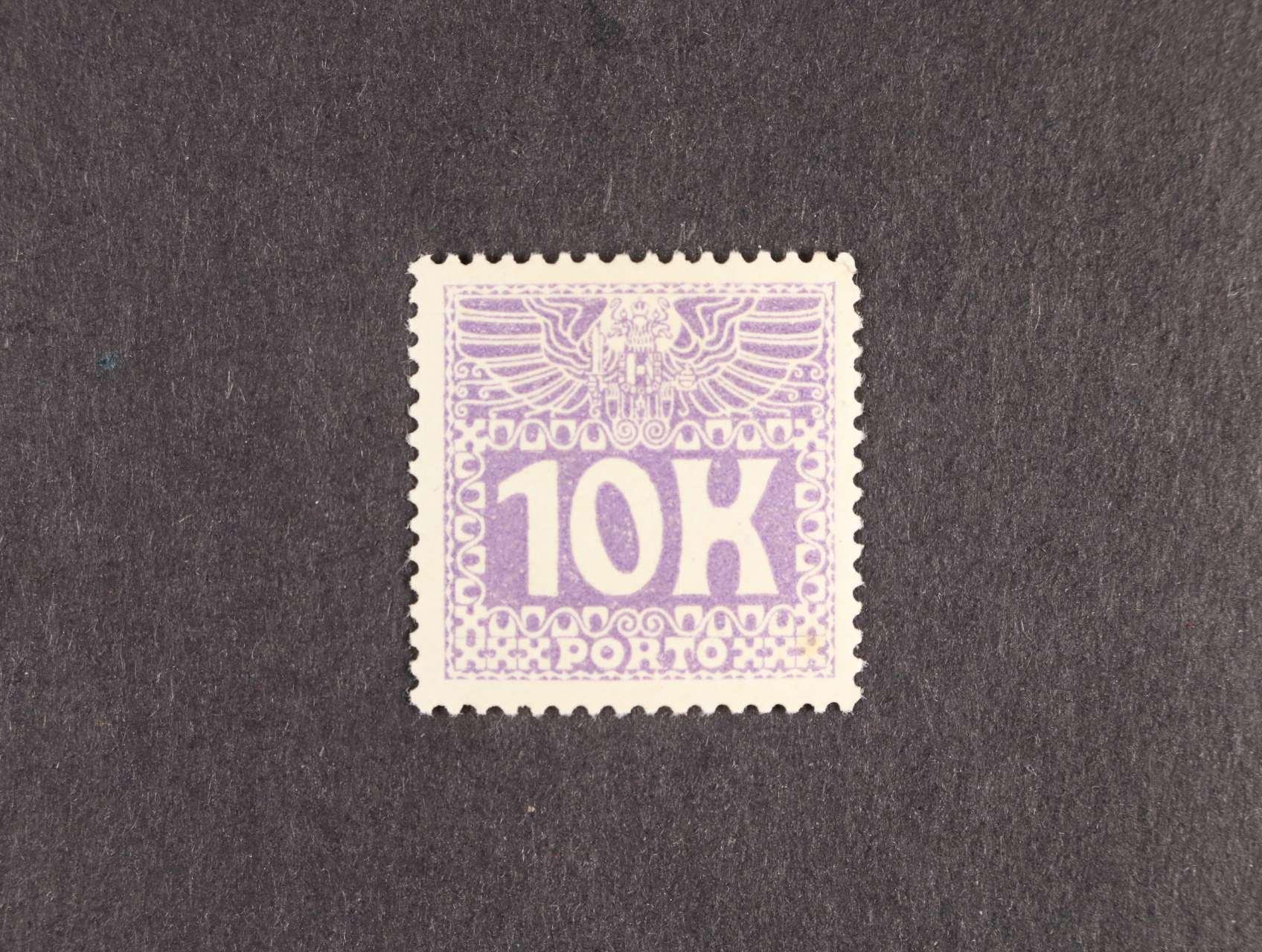 zn. Mi. P 46 10K doplatní, kat. cena 9000 Kč
