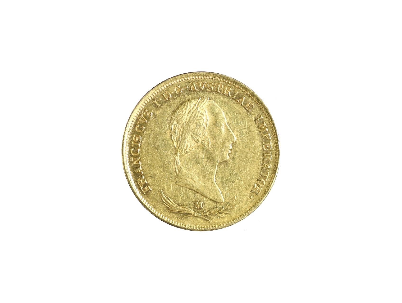 František I. 1792-1835 - Sovráno 1831 M, N141, dr. hr.