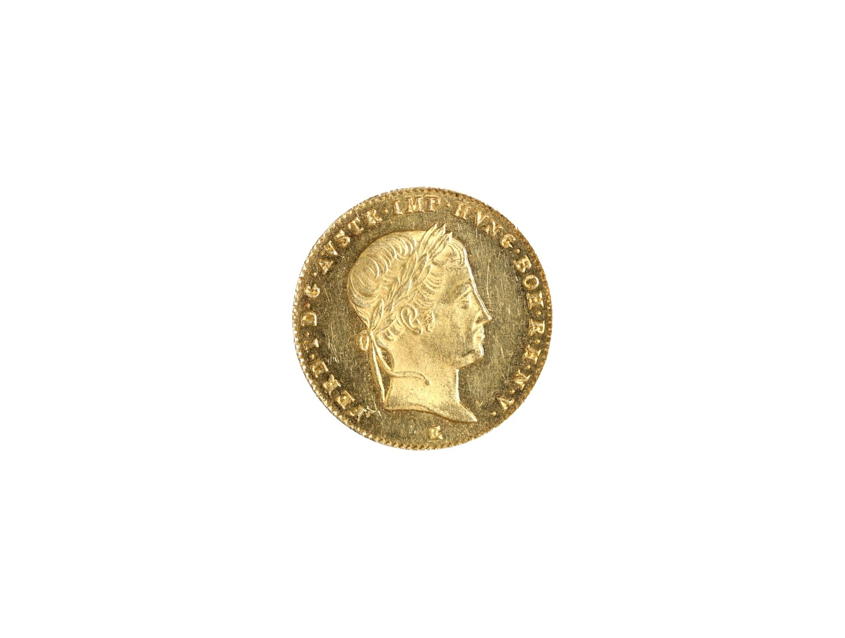 Ferdinand V. 1835-1848 - Dukát 1847 E, N44