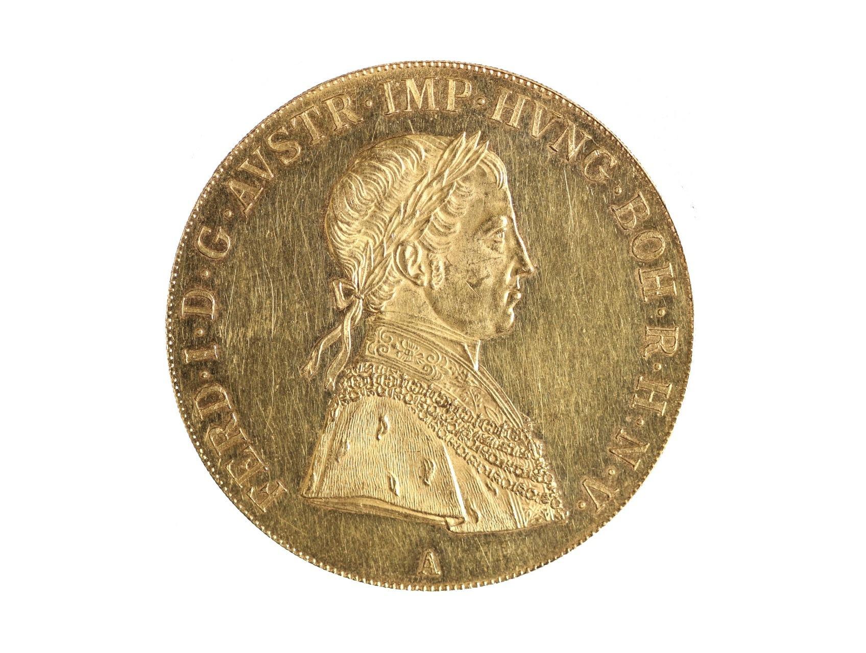 Ferdinand V. 1835-1848 - 4 Dukát 1838 A, N46
