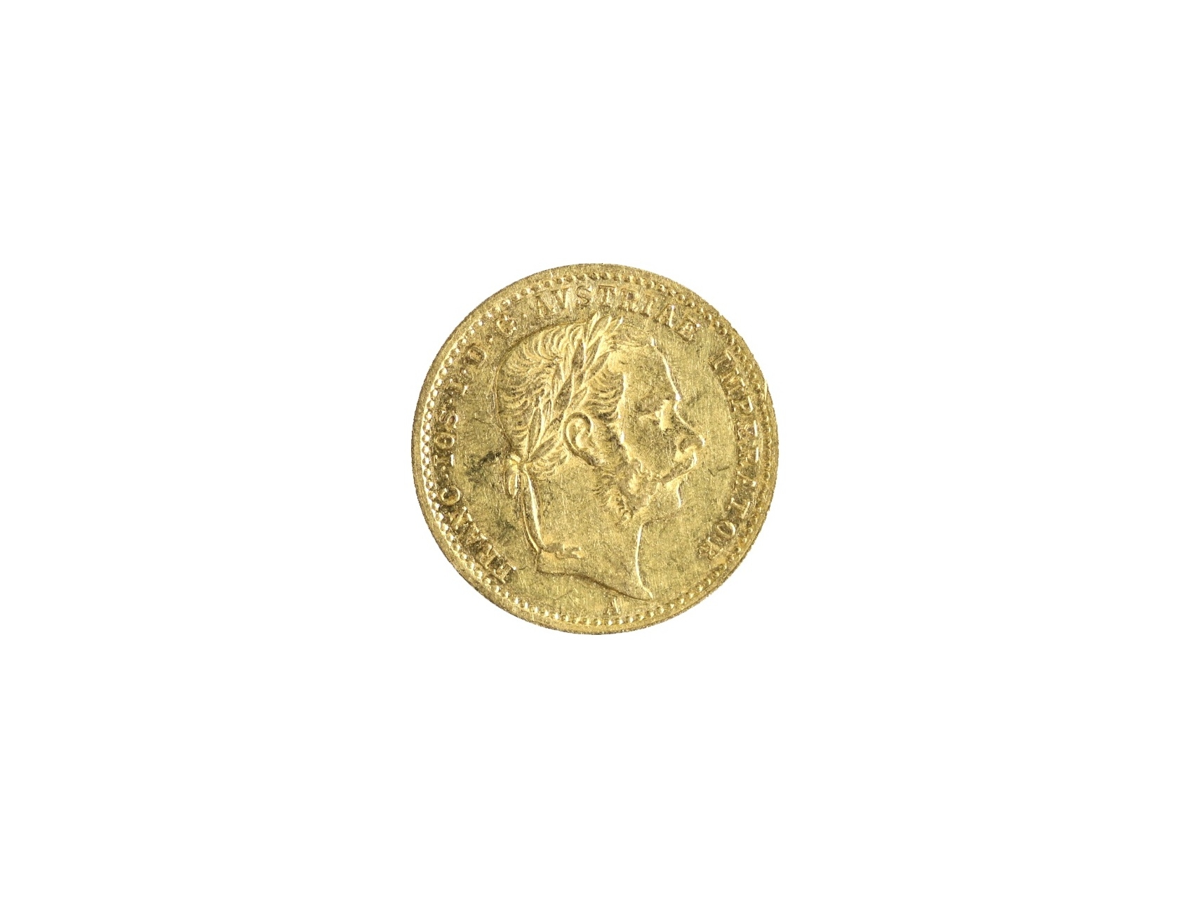 František Josef I. 1848-1916 - Dukát 1871 A, N108