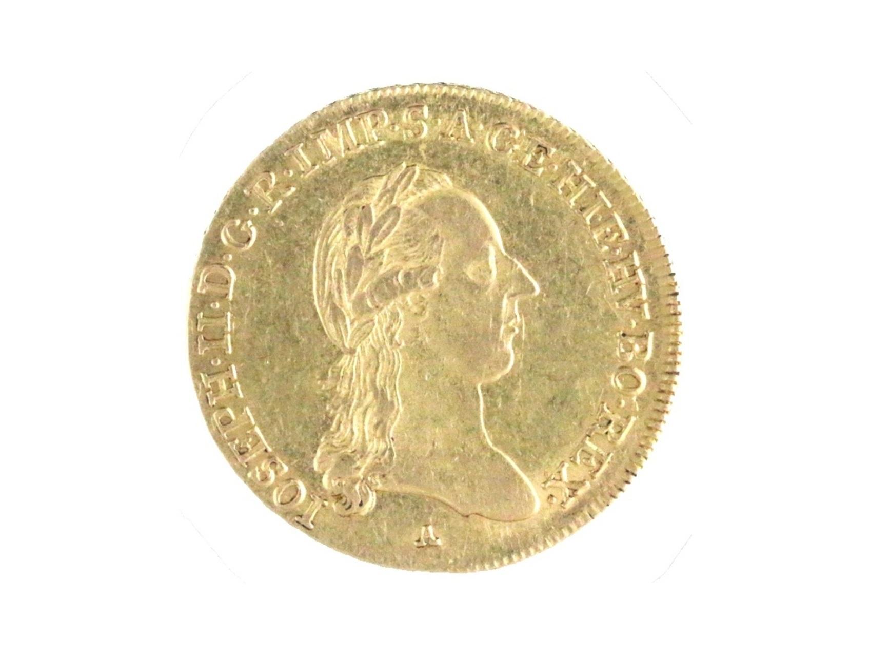 Josef II. 1765-1790 - 1/2 Sovráno 1787 A pro Rakouské Nizozemí, N60
