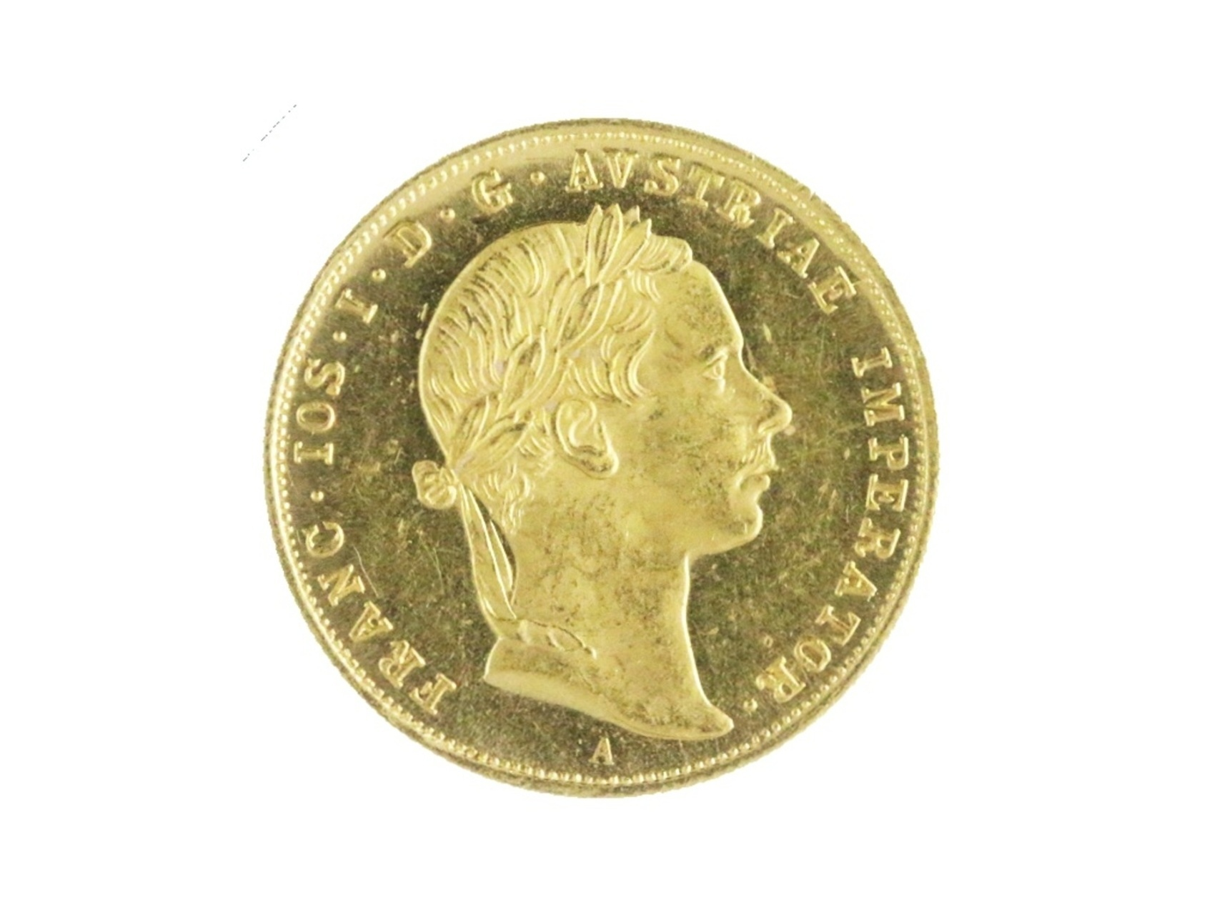František Josef I. 1848-1916 - Dukát 1857 A, N106