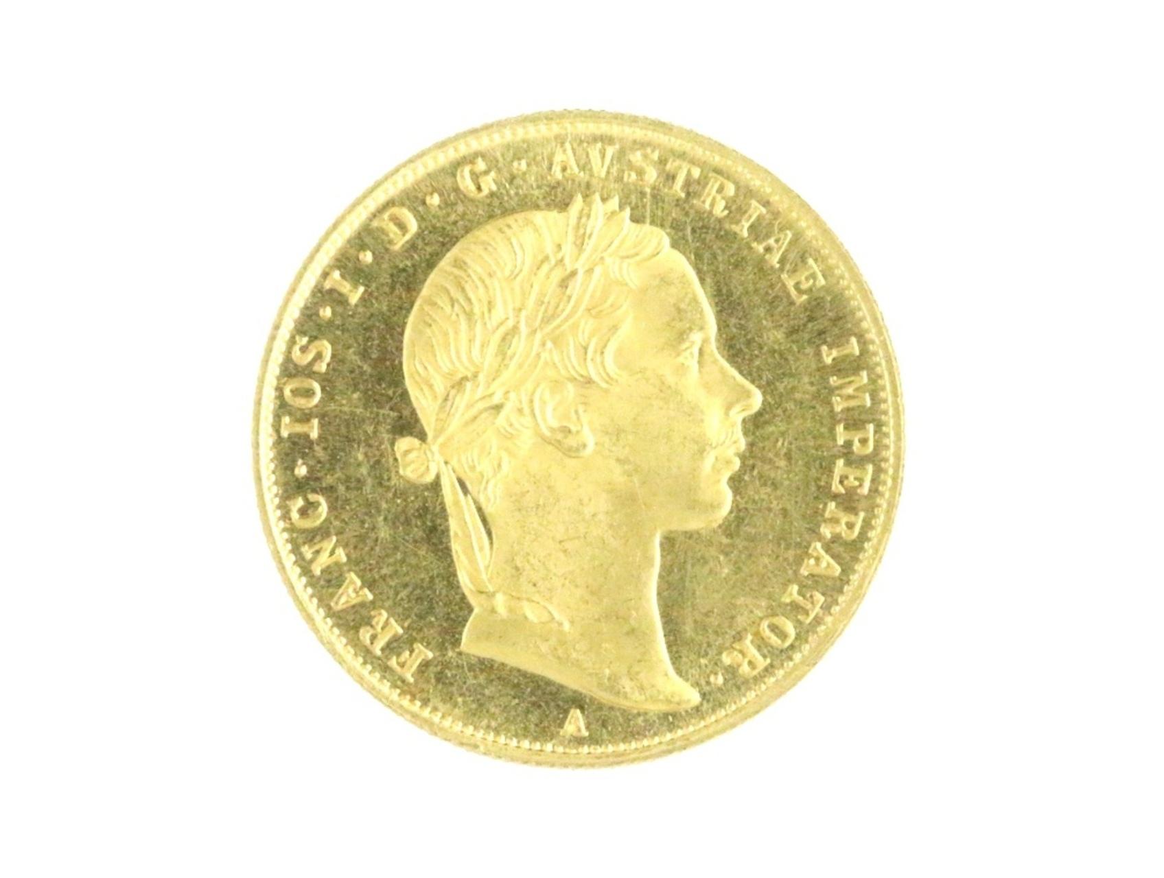František Josef I. 1848-1916 - Dukát 1858 A, N106