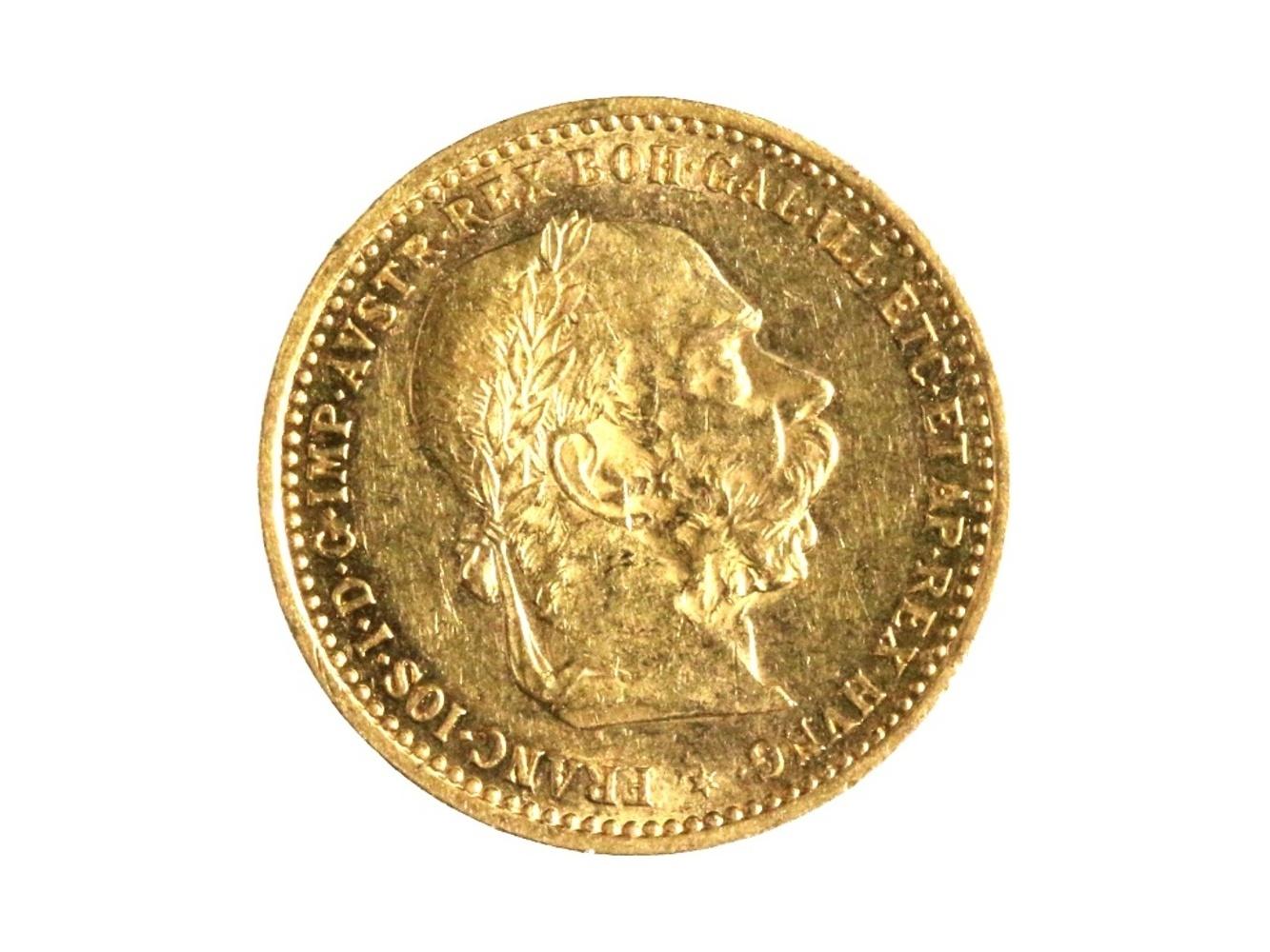 František Josef I. 1848-1916 - 10 Koruna 1905, N 130