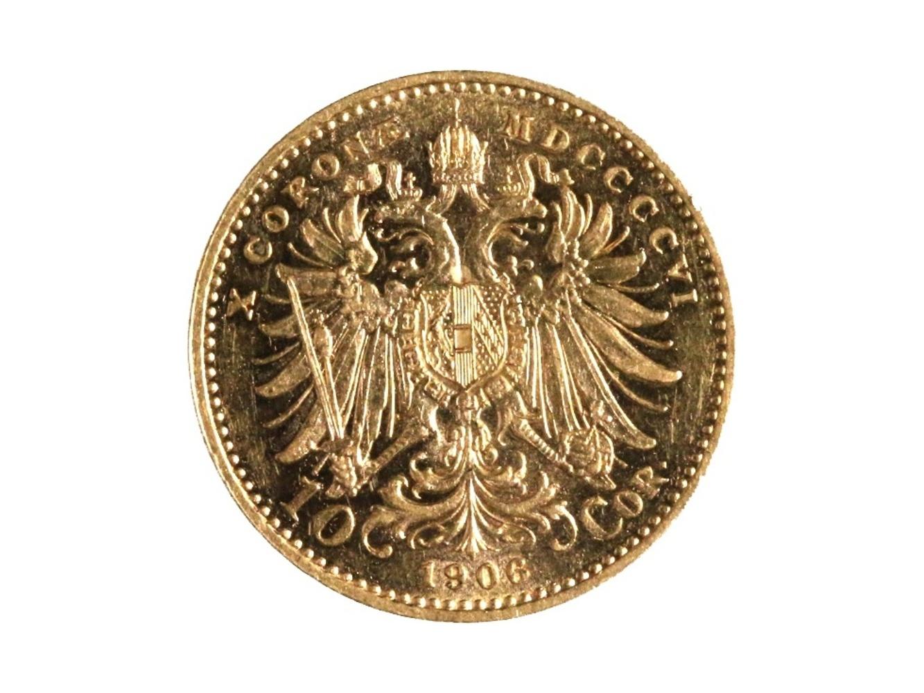 František Josef I. 1848-1916 - 10 Koruna 1906, N 130