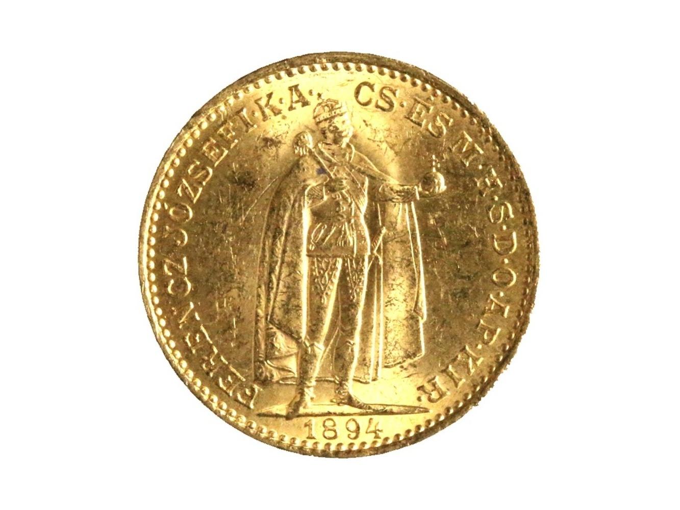 František Josef I. 1848-1916 - 20 Koruna 1894 KB, N 138