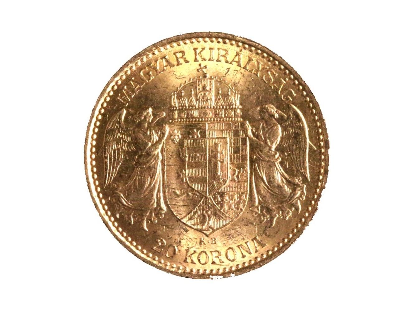 František Josef I. 1848-1916 - 20 Koruna 1896 KB, N 138