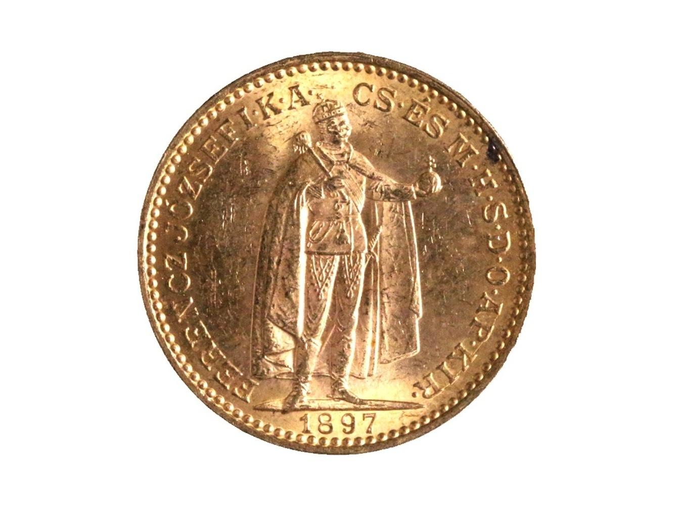 František Josef I. 1848-1916 - 20 Koruna 1897 KB, N 138