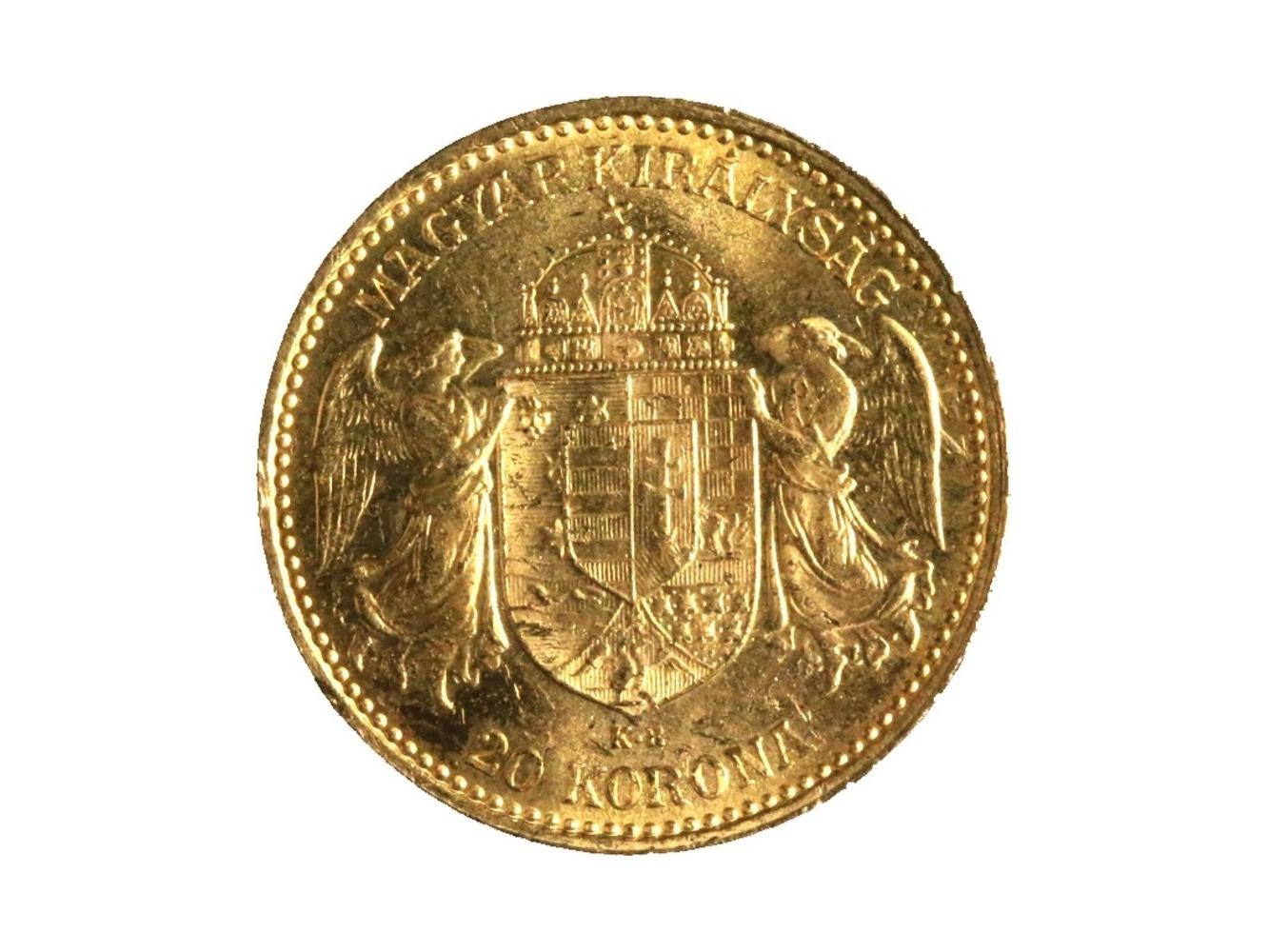 František Josef I. 1848-1916 - 20 Koruna 1898 KB, N 138