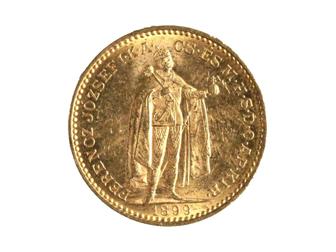 František Josef I. 1848-1916 - 20 Koruna 1899 KB, N 138
