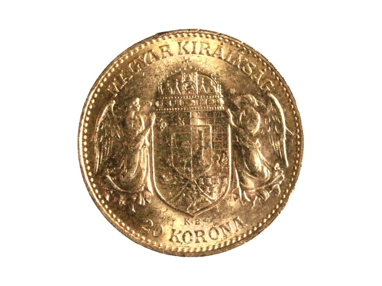 František Josef I. 1848-1916 - 20 Koruna 1902 KB, N 138