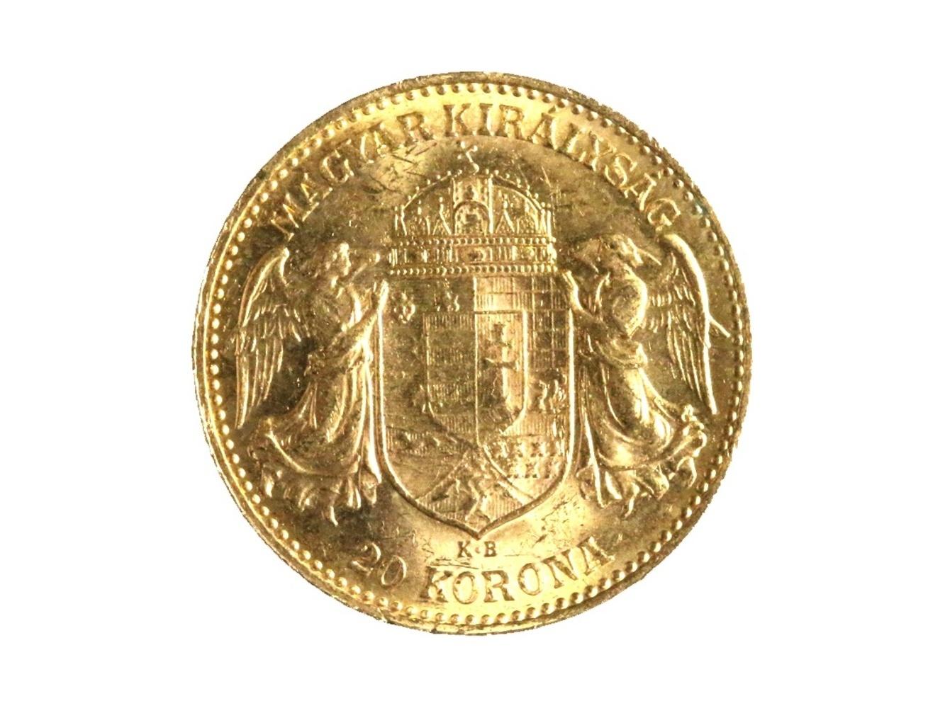 František Josef I. 1848-1916 - 20 Koruna 1903 KB, N 138